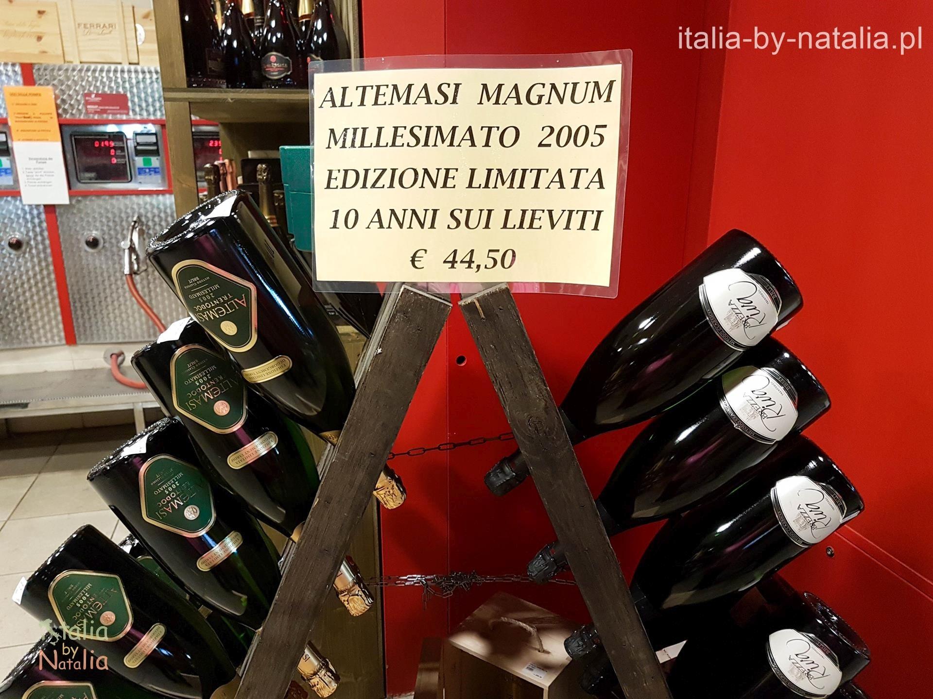 Agraria Riva del Garda sklep z lokalnymi specjałami