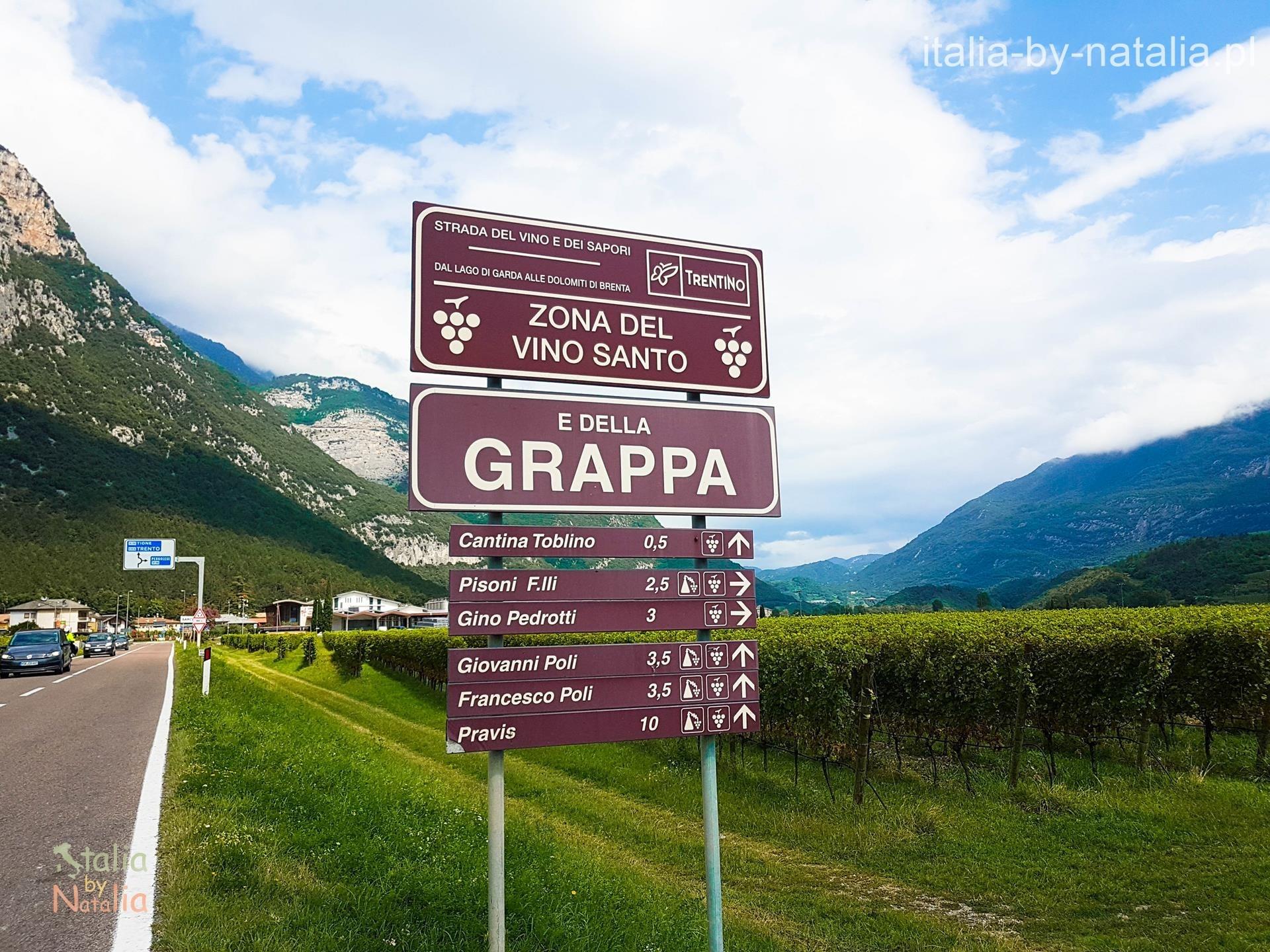 Area Grappa Vino Santo Sarca Riva del Garda Arco Toblino Dro
