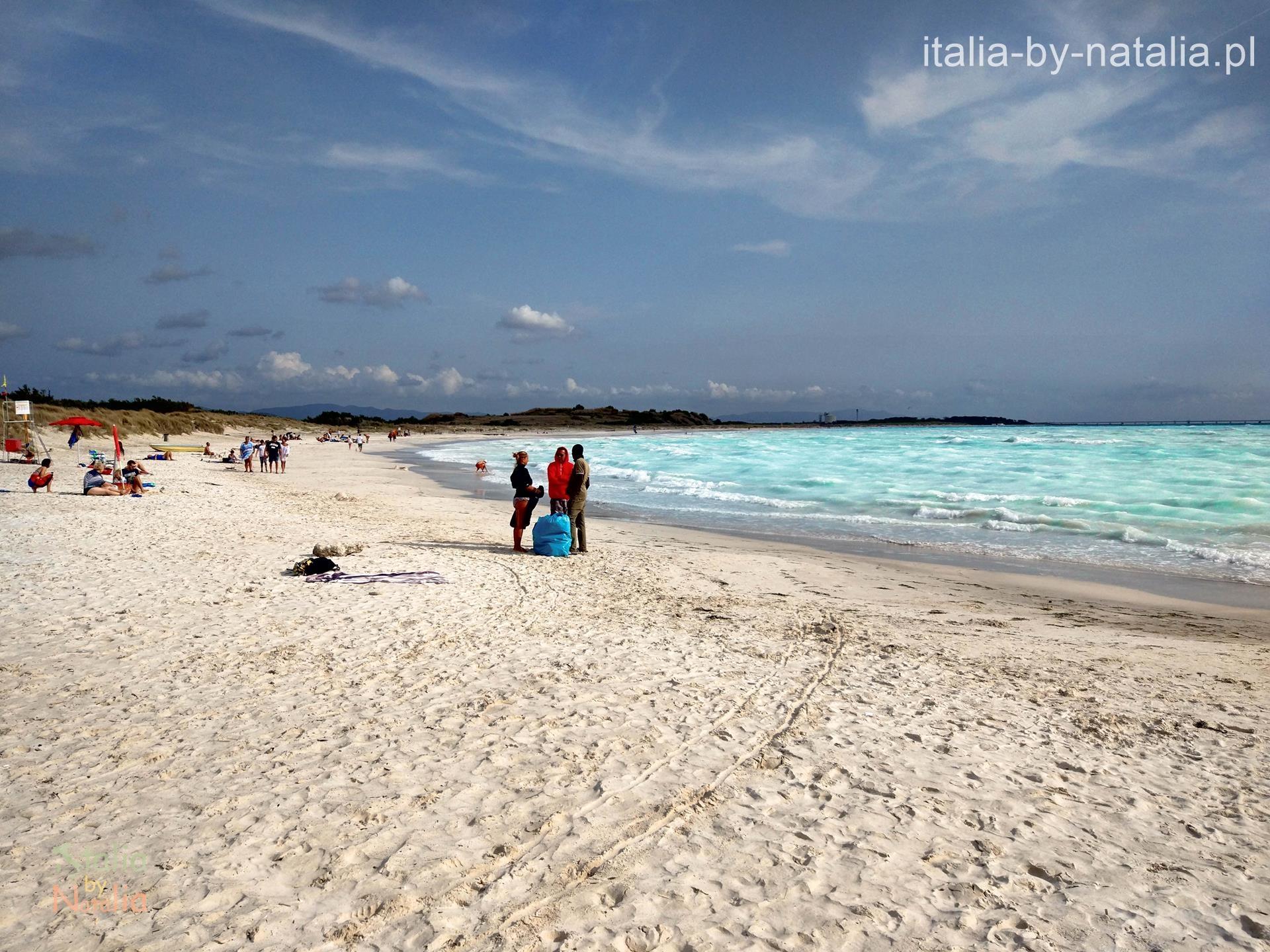 Vada Rosignano Solvay biała plaża Toskania
