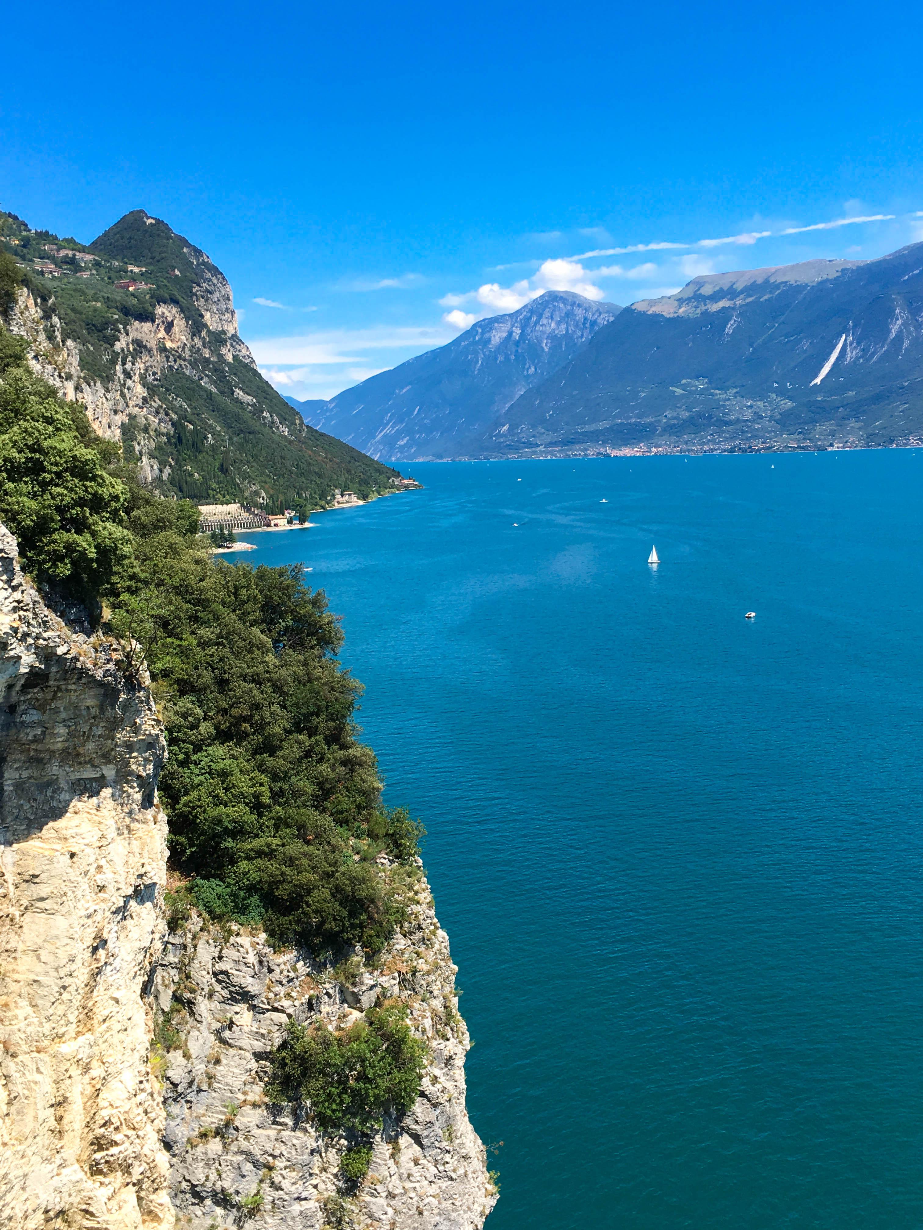 Jezioro Garda widok