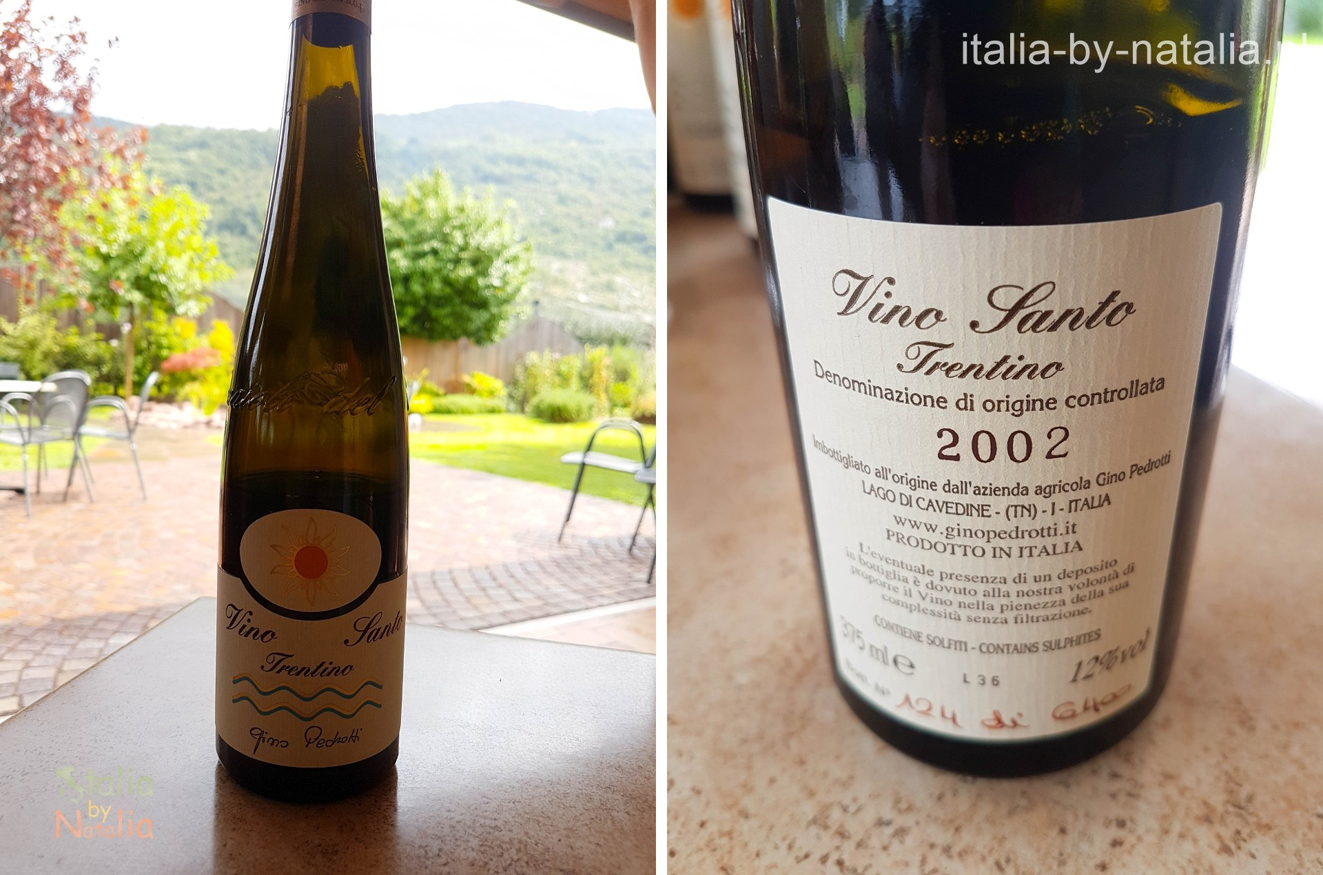 Gino Pedrotti Trentino degustacja wino vino santo
