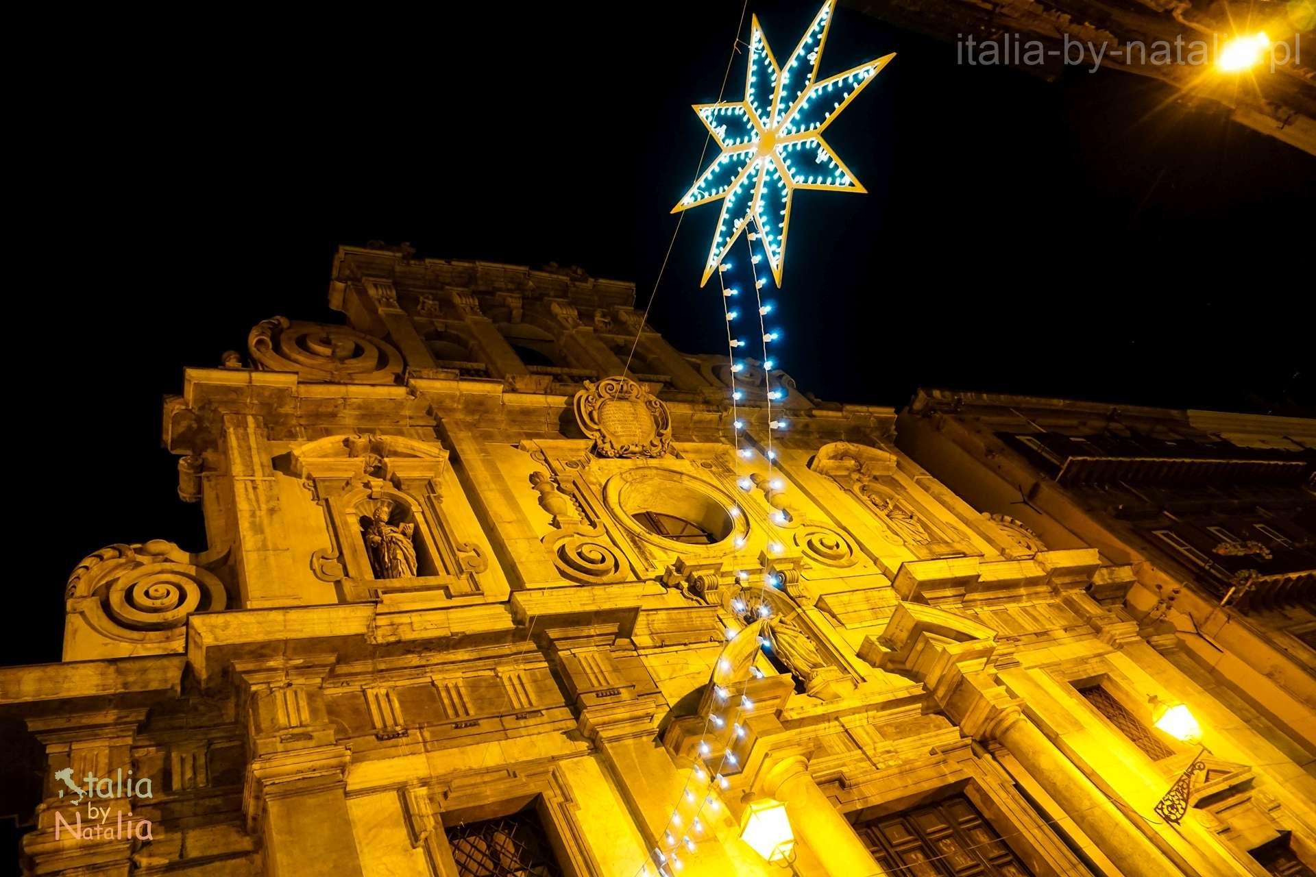 Palermo Sycylia grudzien december christmas święta
