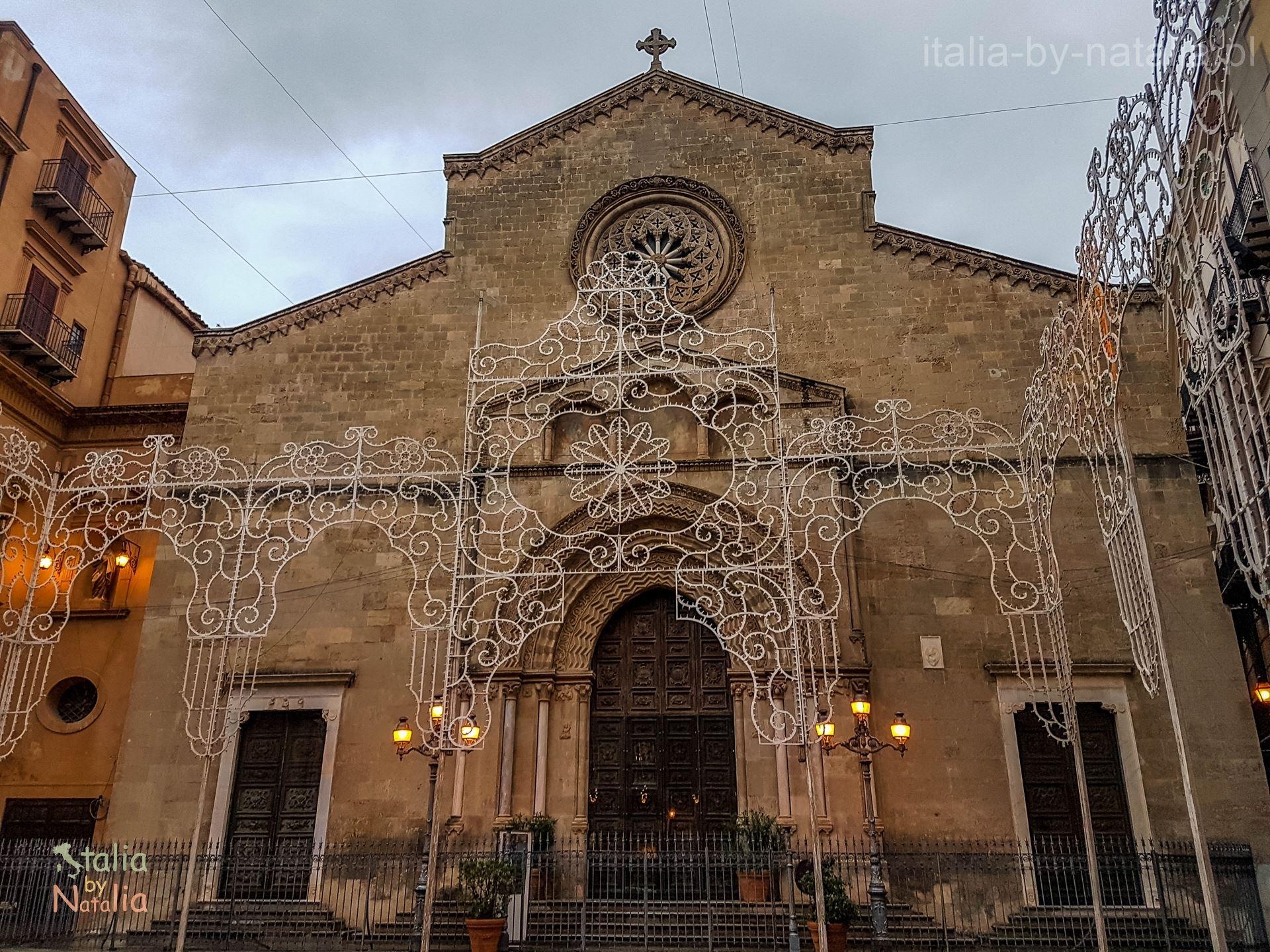 Palermo Sycylia grudzien december christmas święta Kalsa