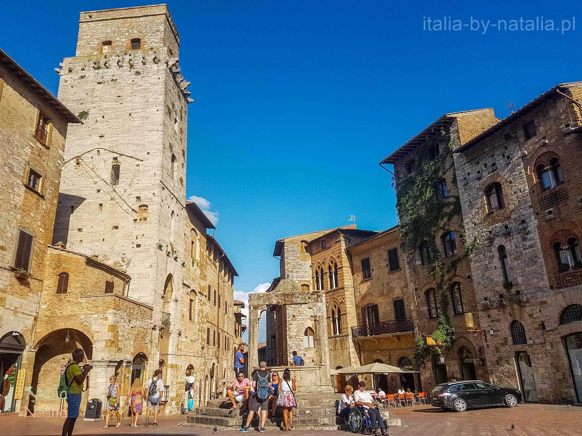 San Gimignano Toskania Tuscany