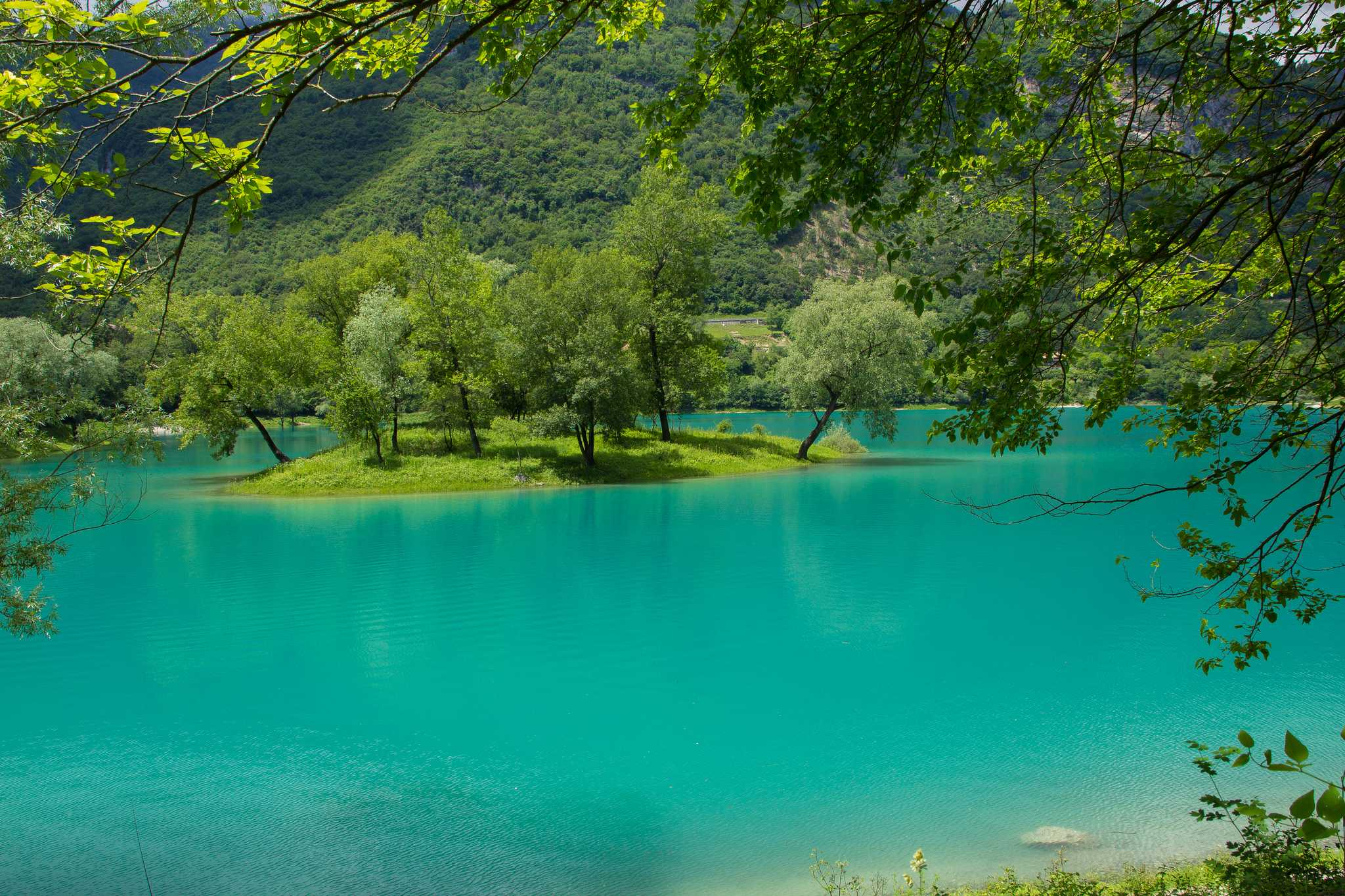 Lago di Tenno Jezioro Garda Trydent Trentino Canale Tenno Varone