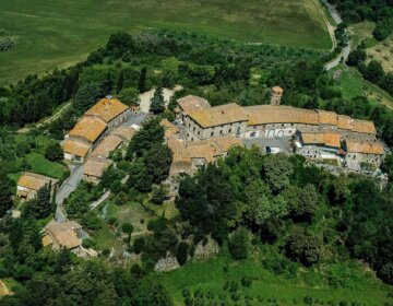 Montegemoli Toskania Tuscany Toscana panorama Val di Cecina