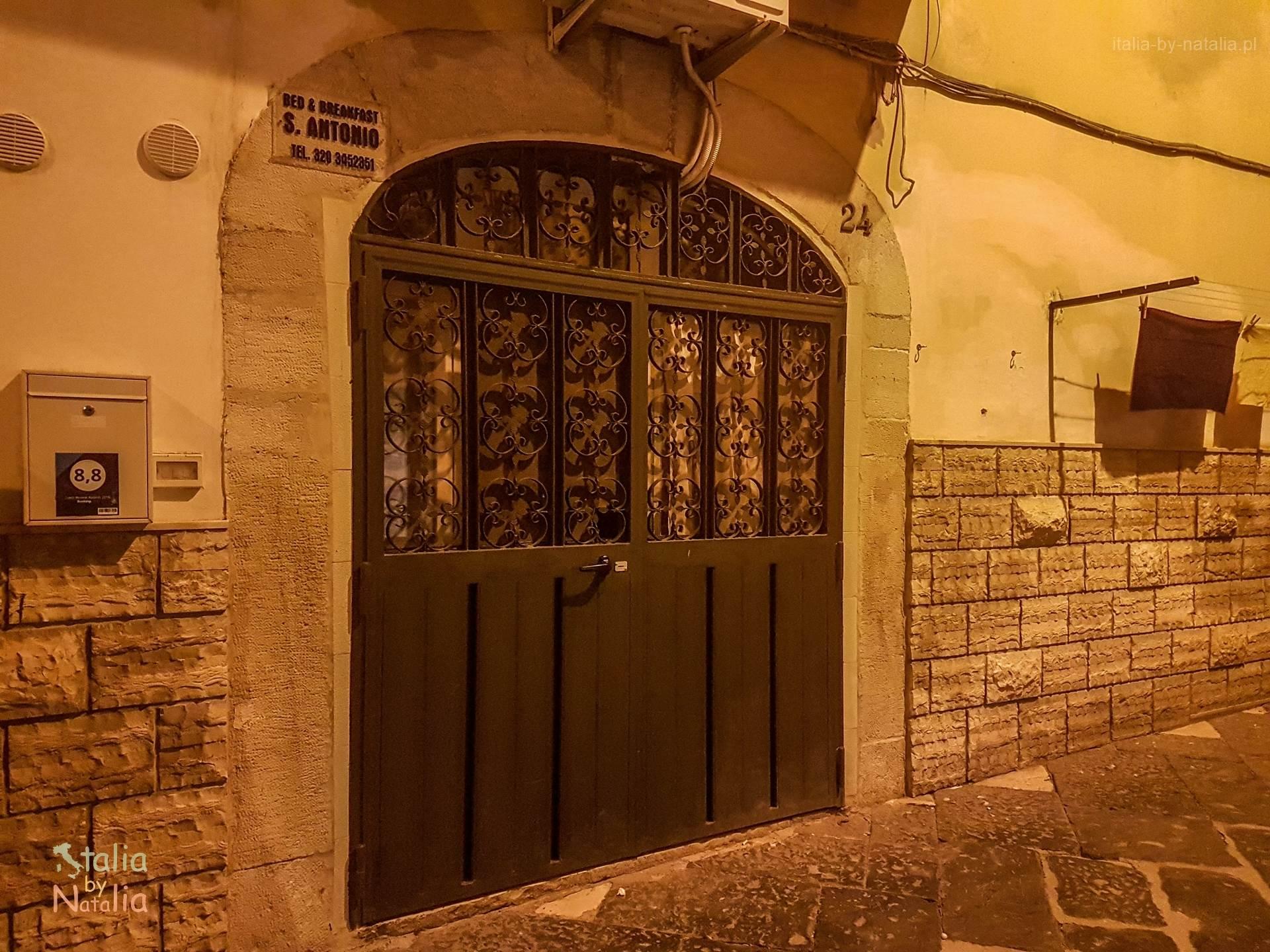 Podróż do Bari apartament sprawdzony nocleg