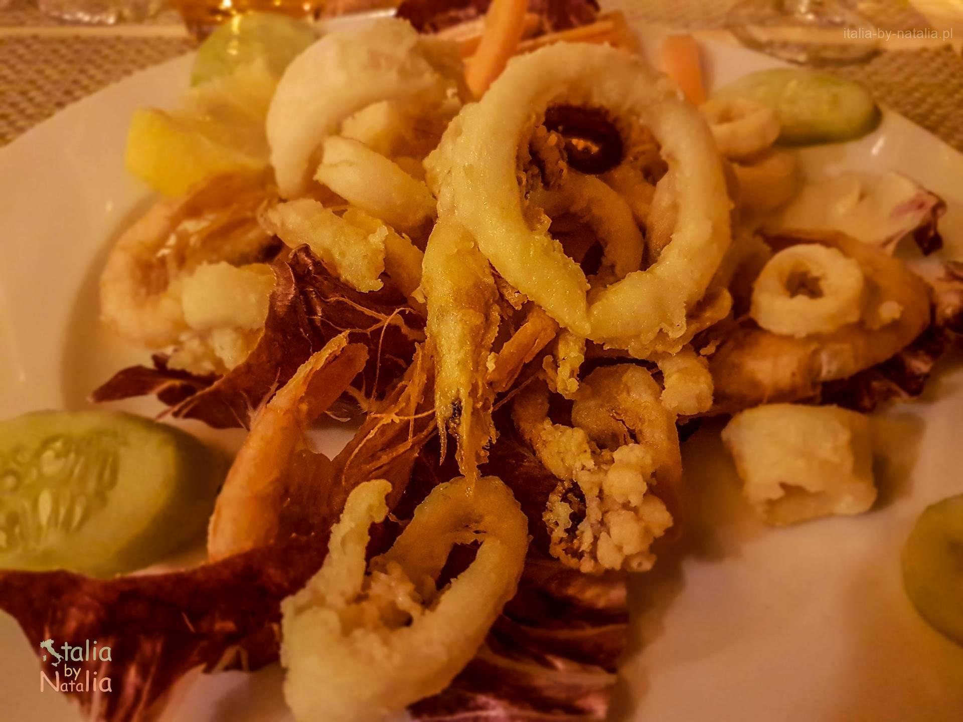 Bari sprawdzona restauracja owoce morza