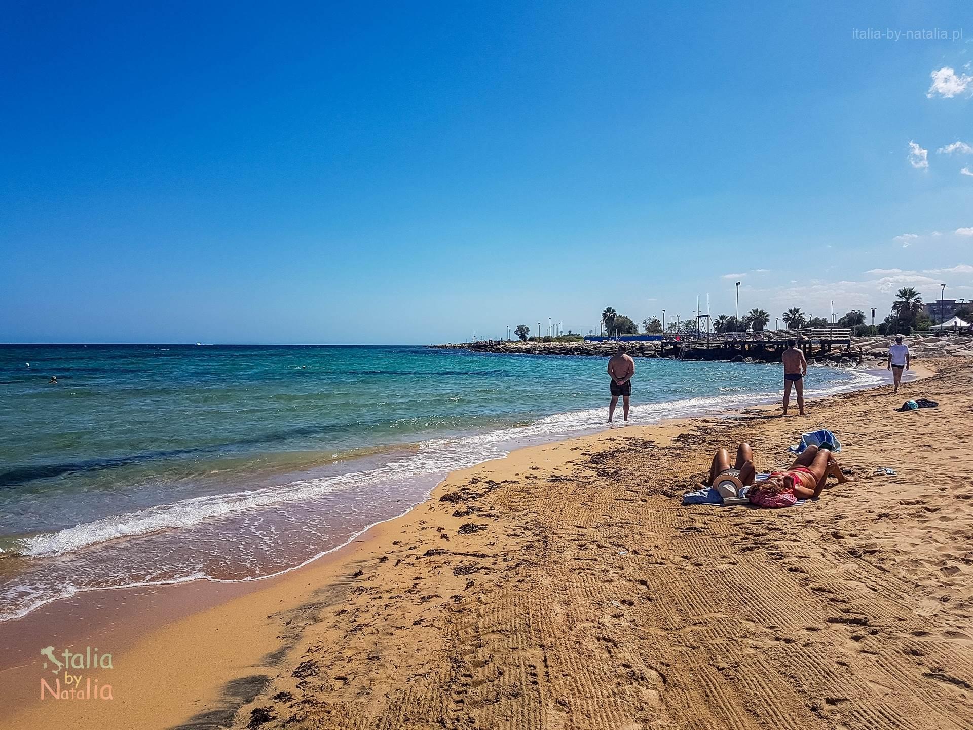 Bari Apulia plaża