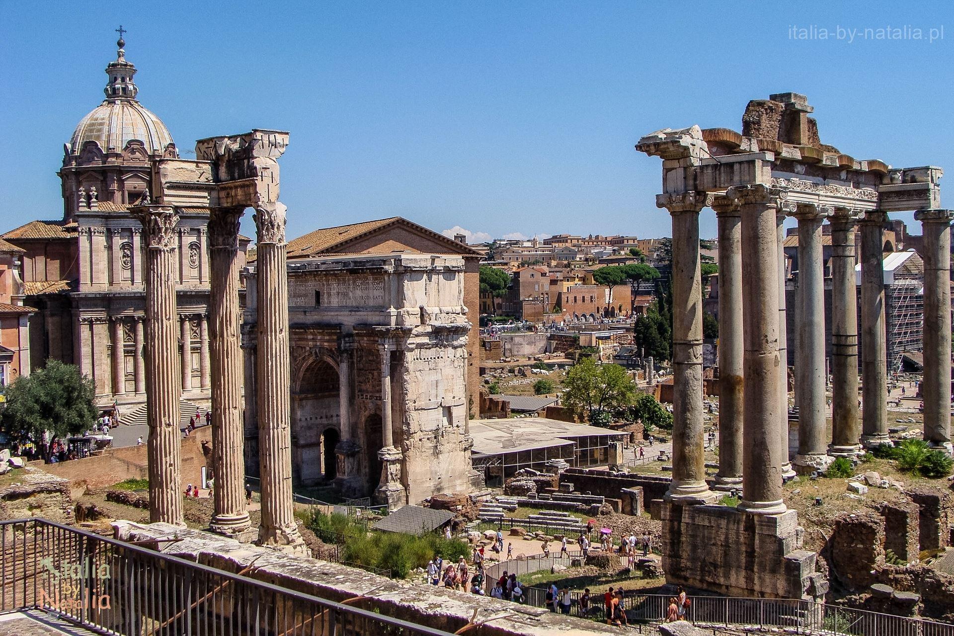 Znalezione obrazy dla zapytania zabytki Rzymu