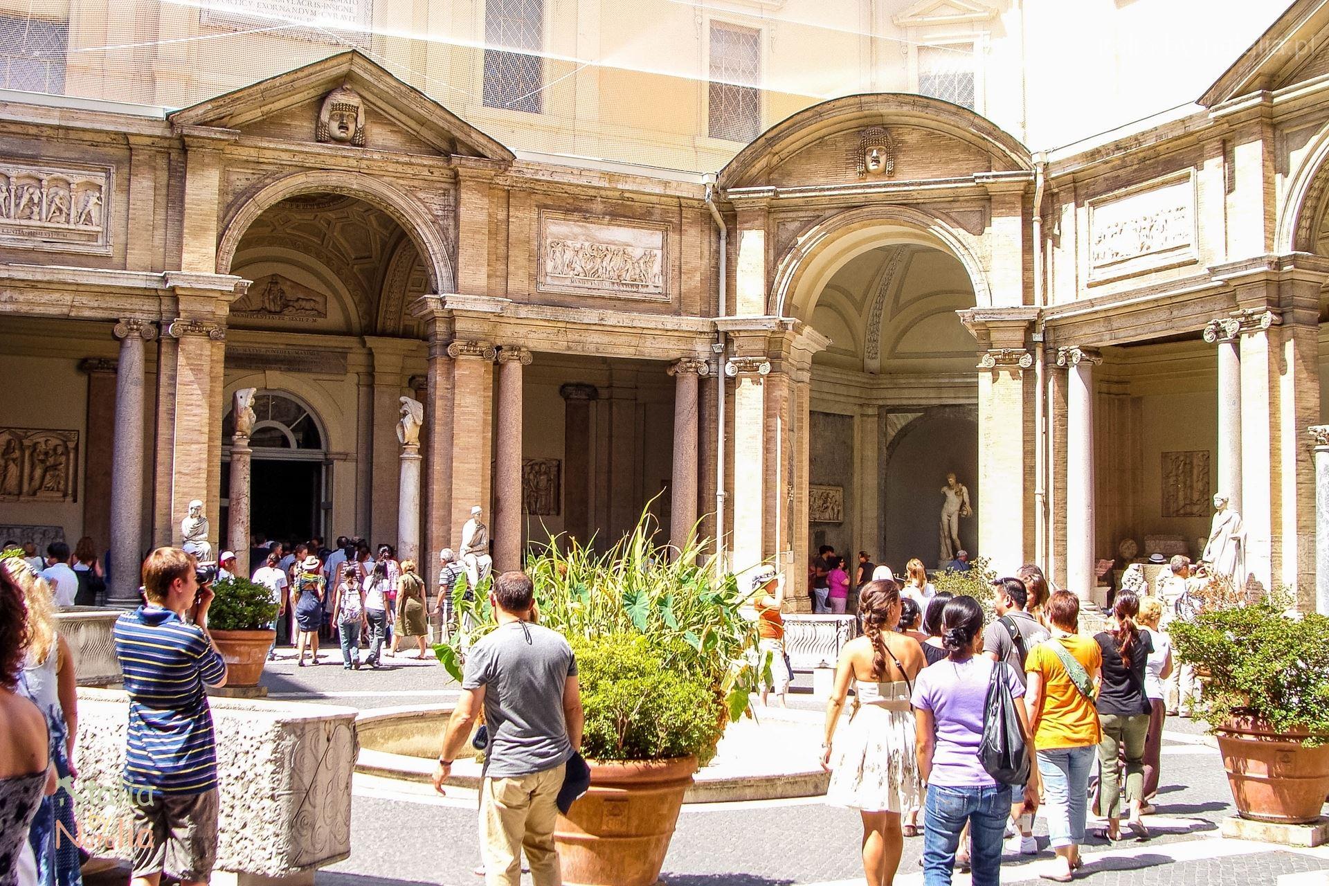 Muzea Watykańskie Rzym zwiedzanie