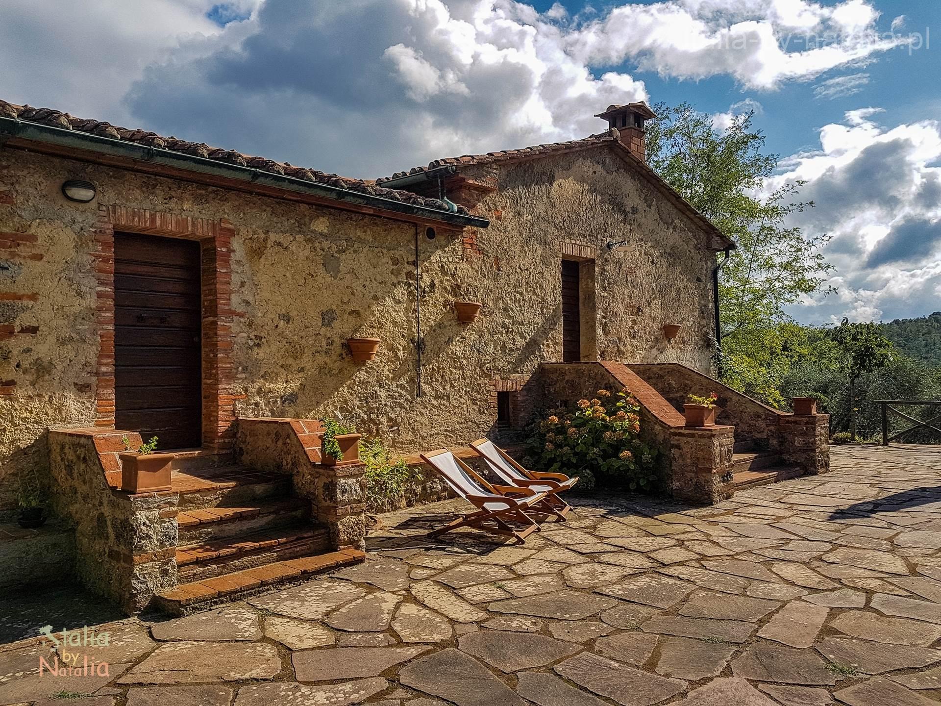 agroturystyka na wsi Toskania Podere di Santa Maria