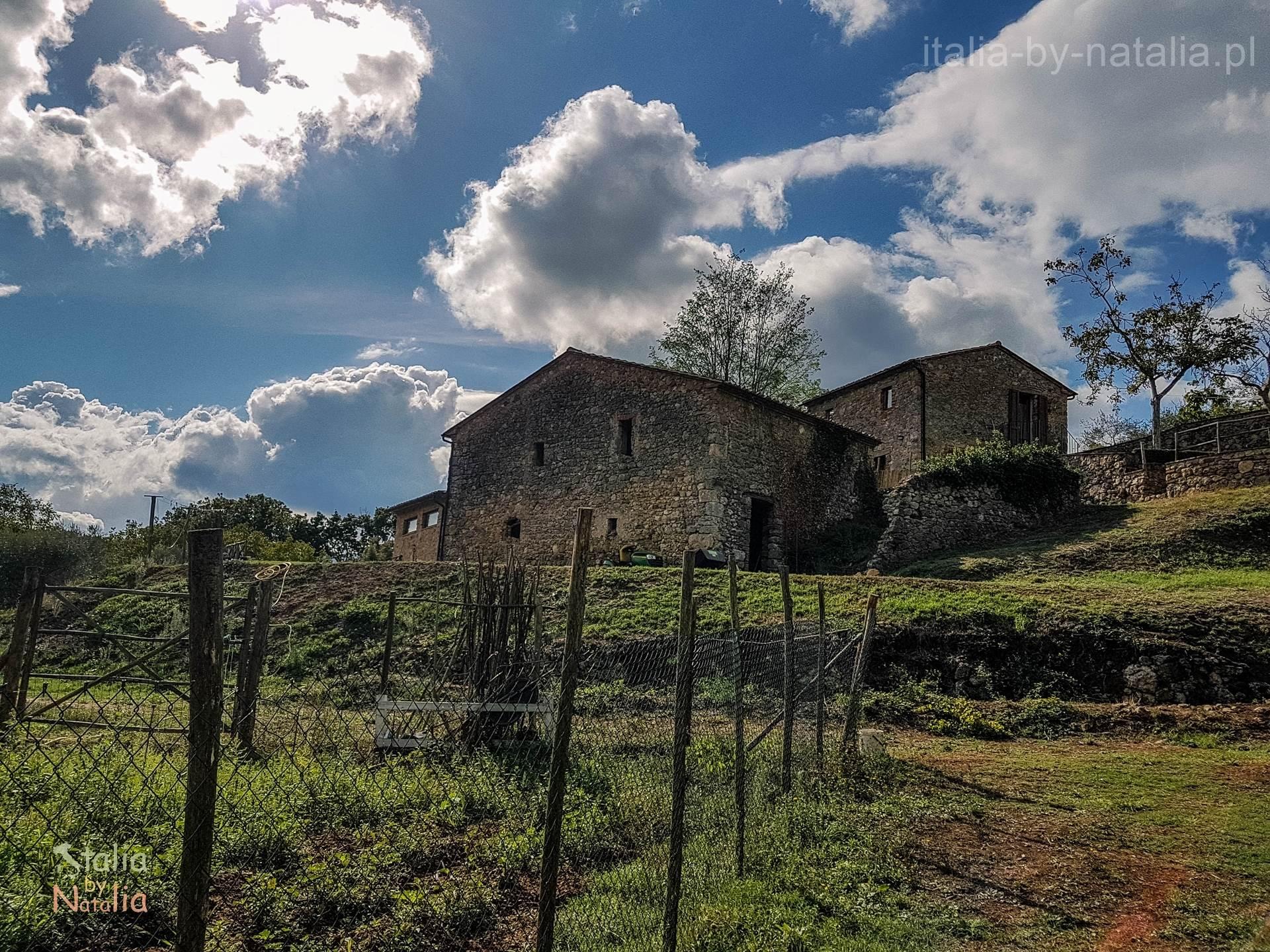 agroturystyka w toskanii na wsi Toskania Podere di Santa Maria