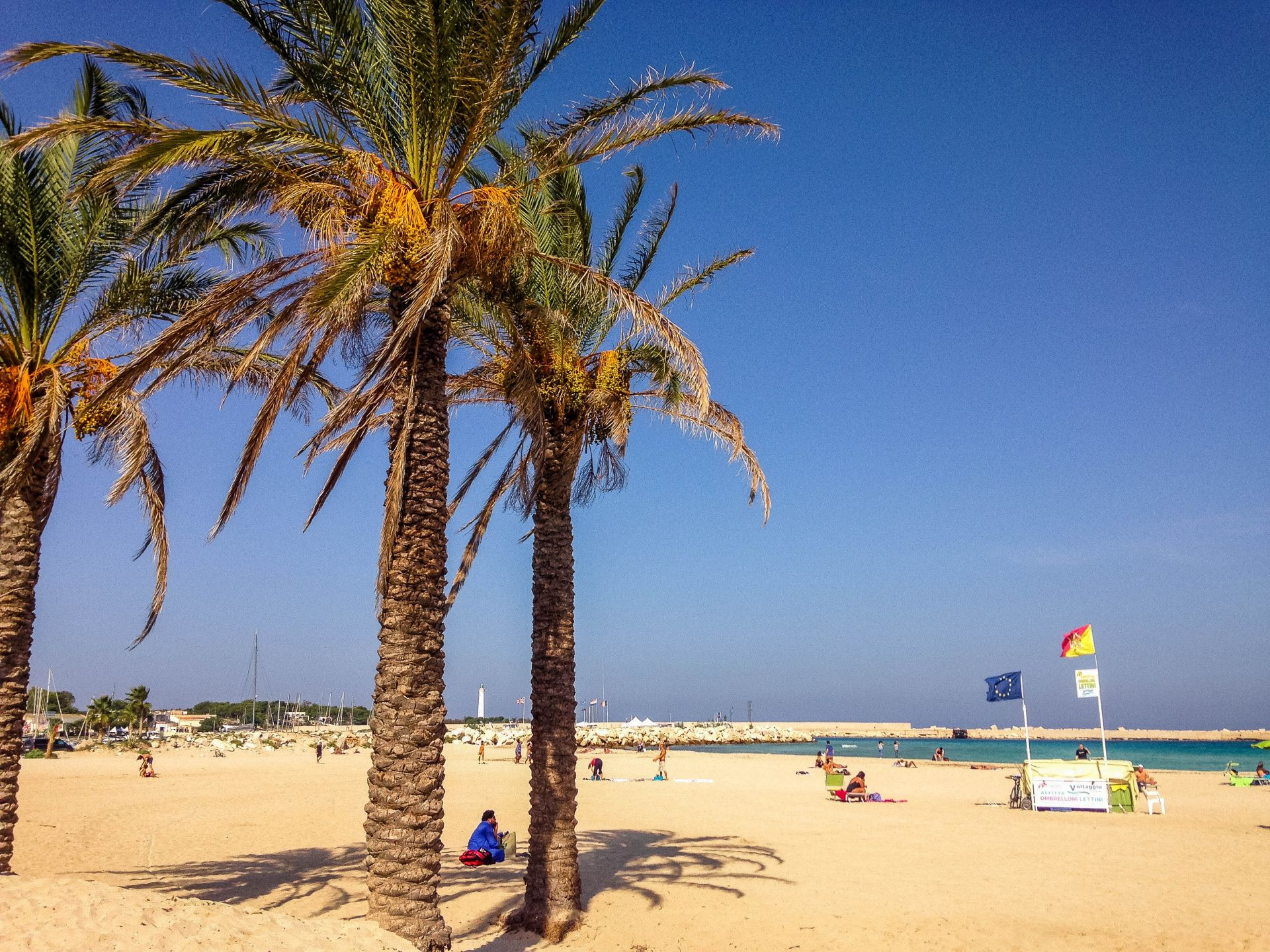 plaża San Vito lo Capo Sycylia