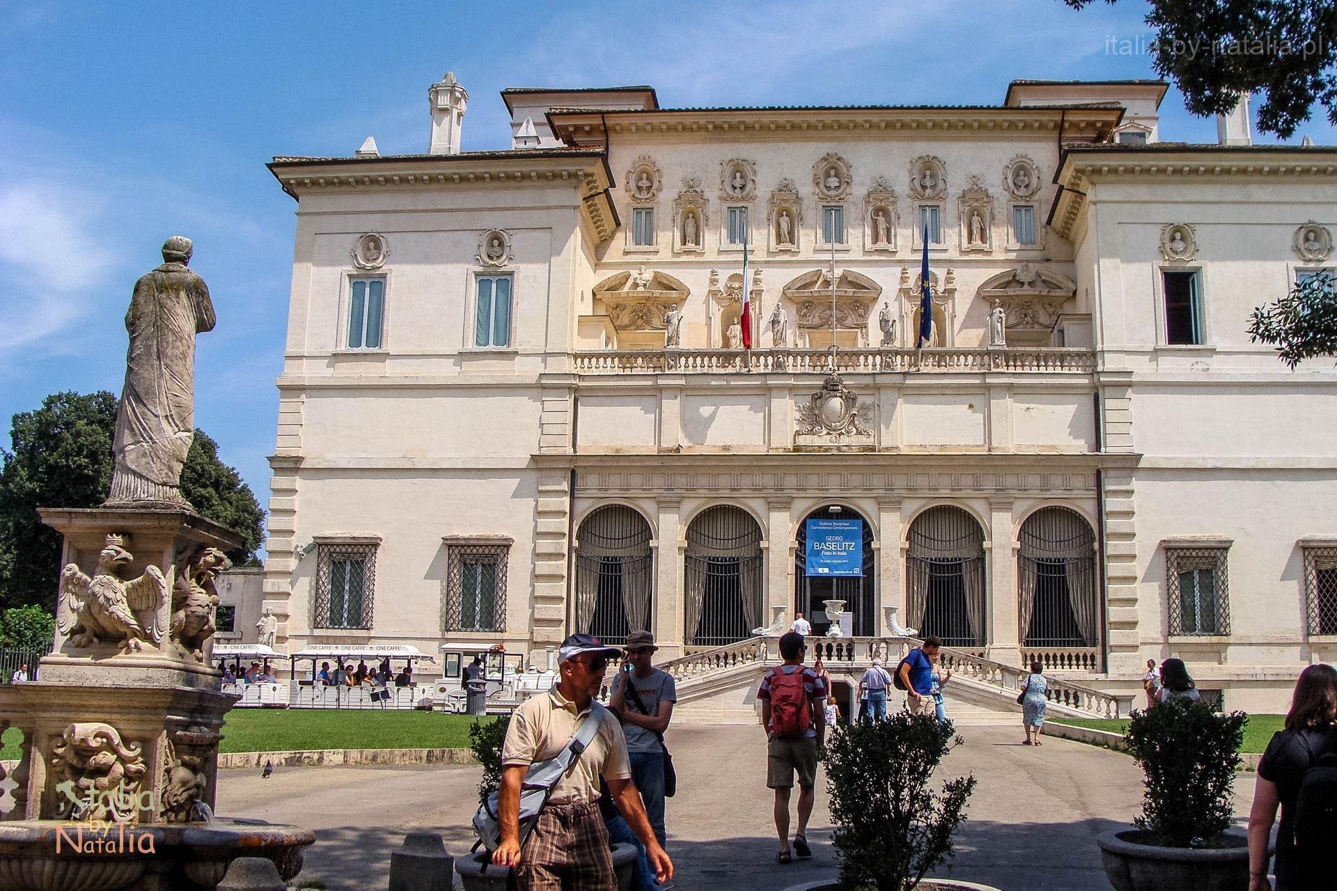 Villa Galeria Borghese Rzym