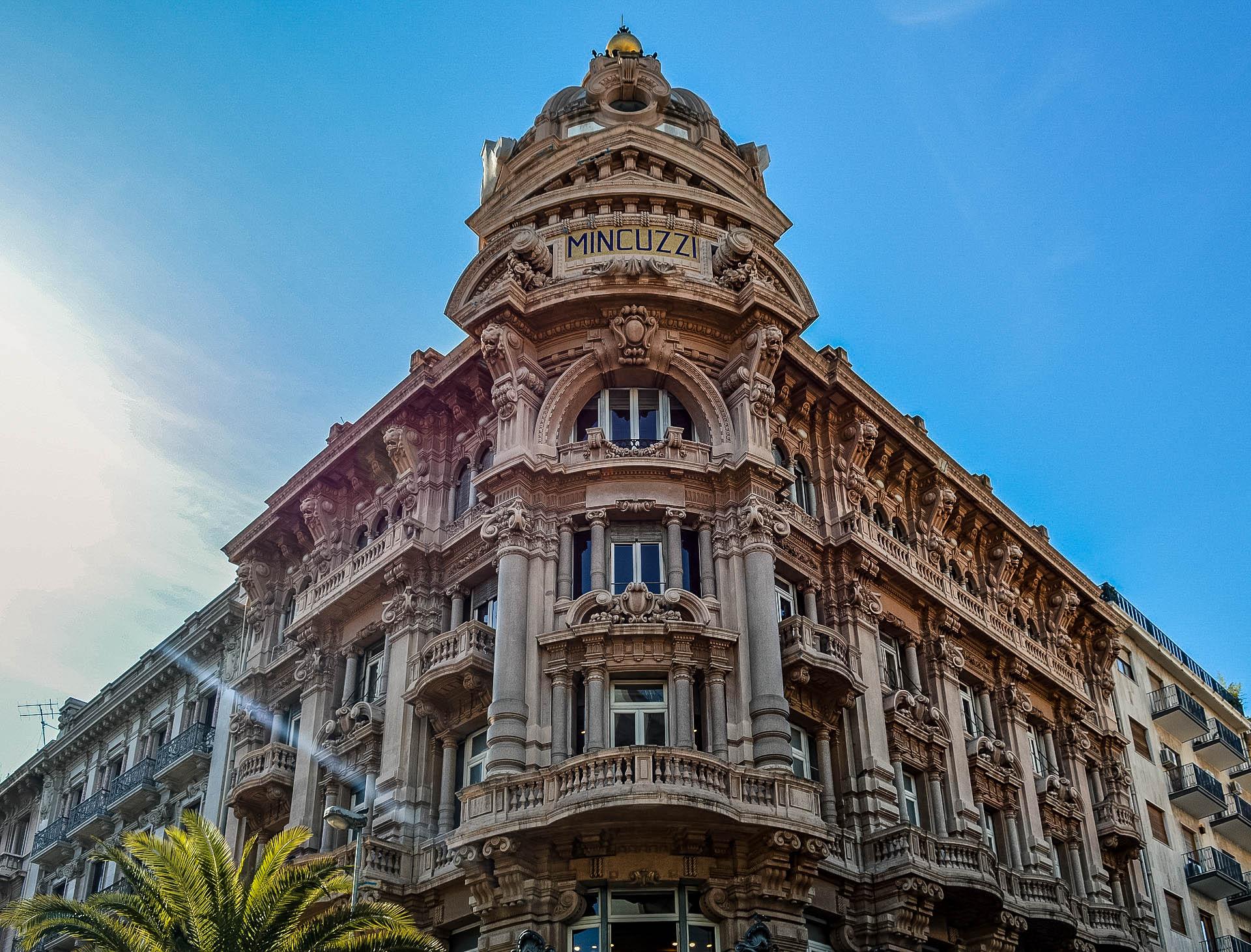 Bari nowe miasto palazzo mincuzzi
