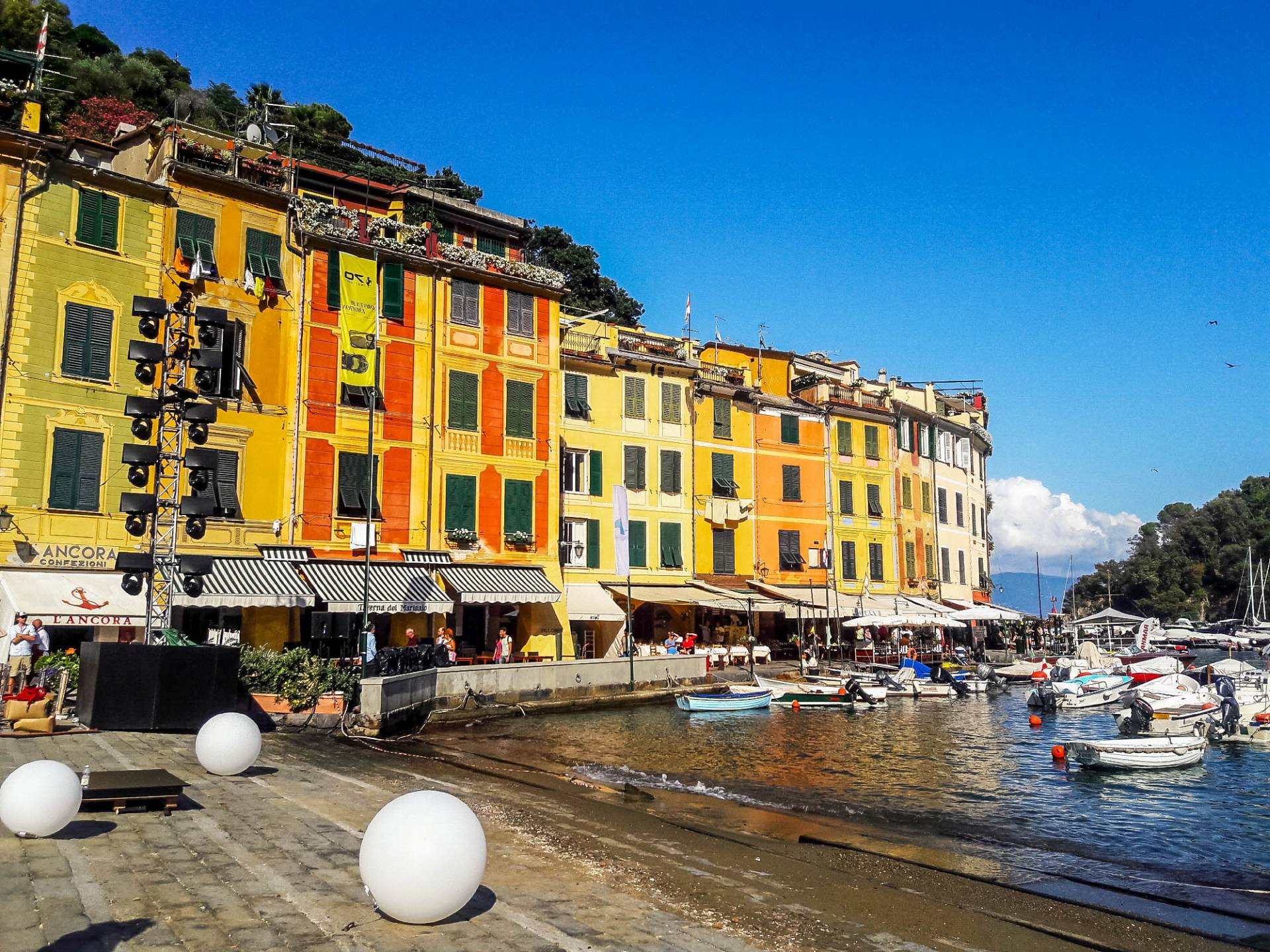 Portofino Liguria panorama