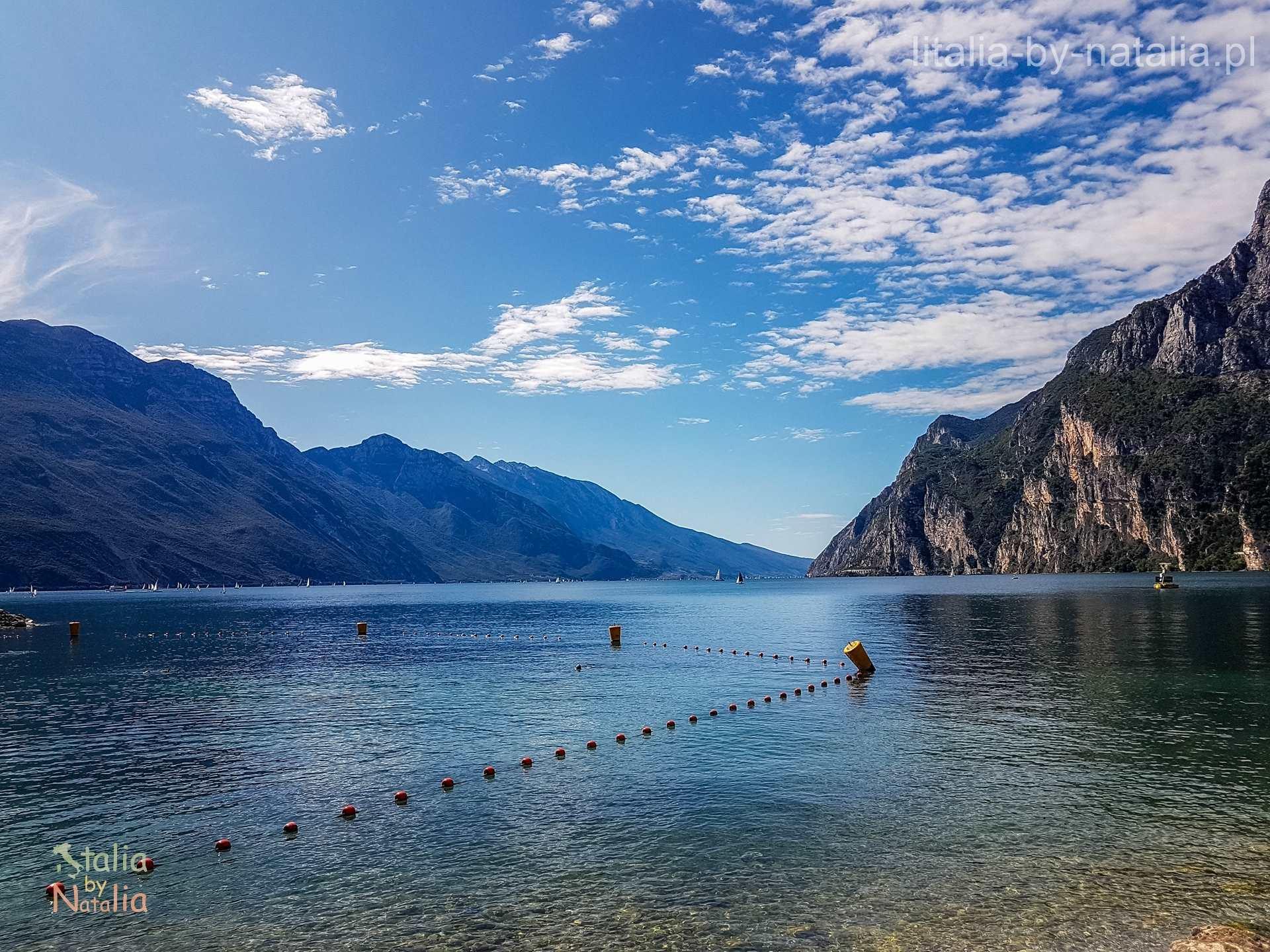 Riva del Garda jezioro góry