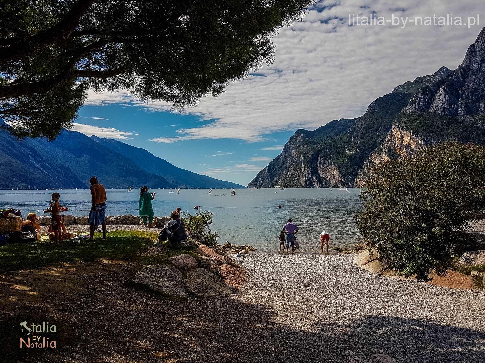 Riva del Garda plaża