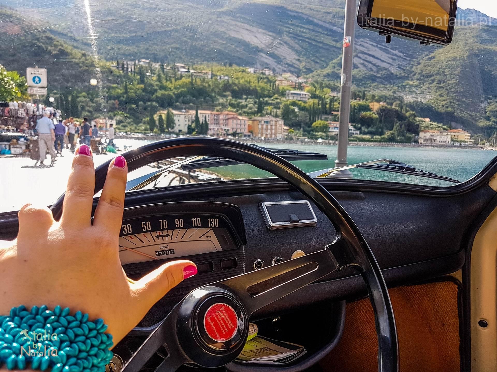 Torbole Jezioro Garda Fiat 500