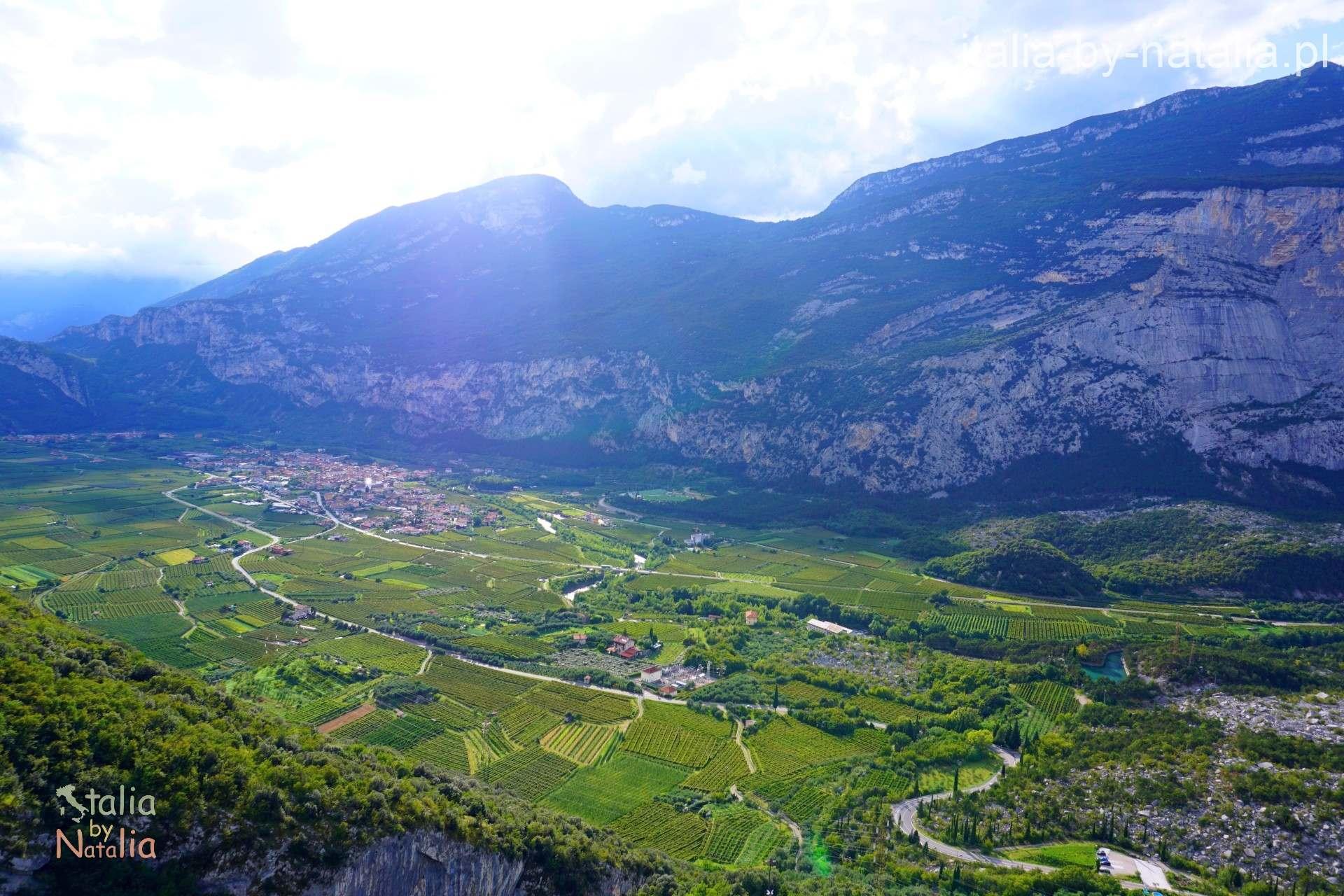 Dolina rzeki Sarca Garda Cavedine Arco Drena Toblino