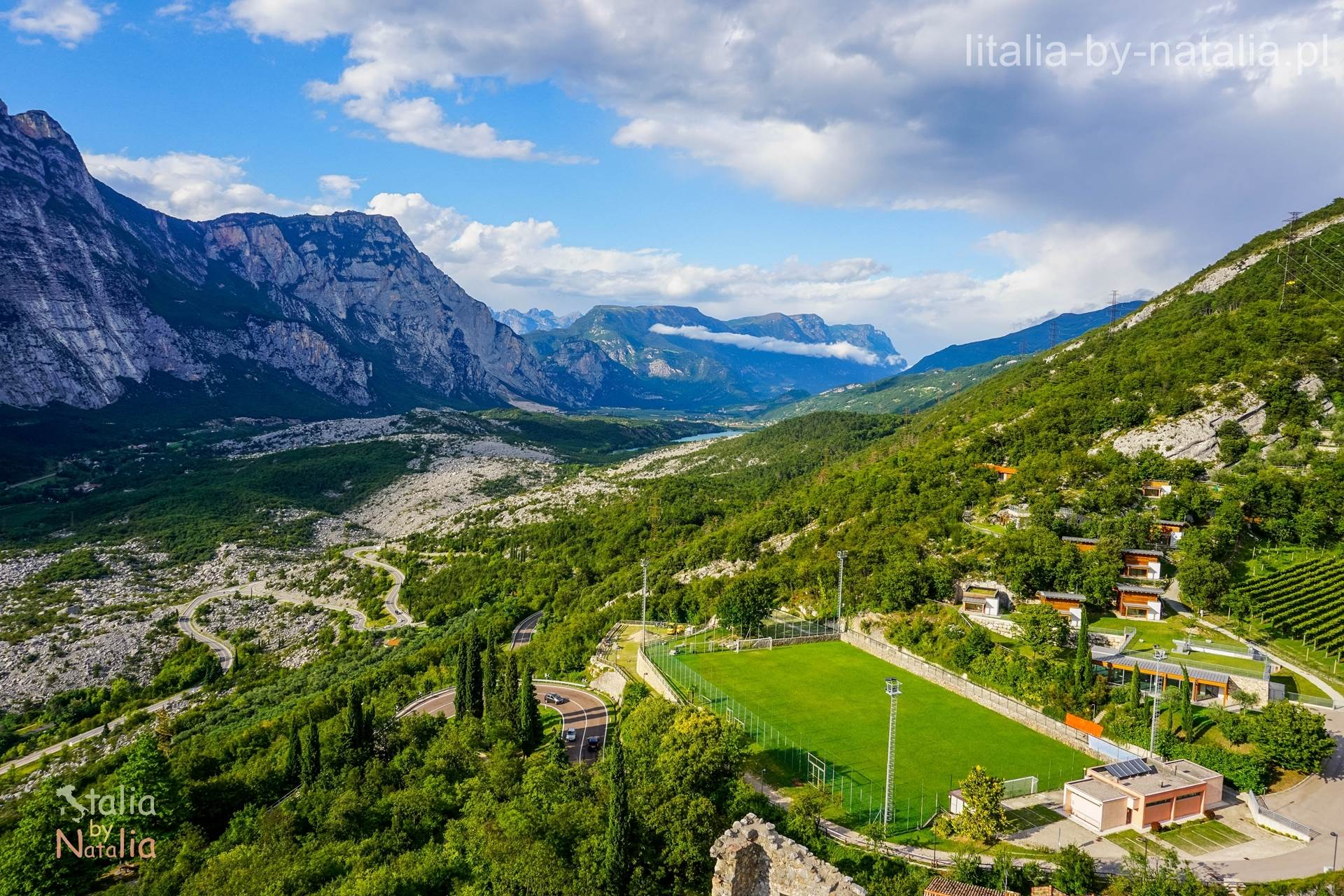 okolice jeziora garda Dolina rzeki Sarca Garda Cavedine Arco Drena Toblino