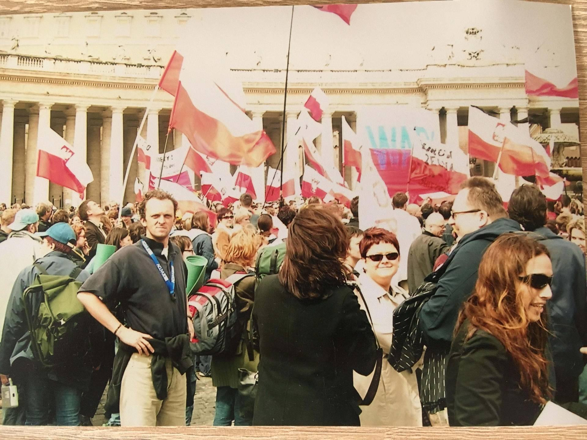 Pogrzeb Jana Pawła II Rzym kwiecien 2005