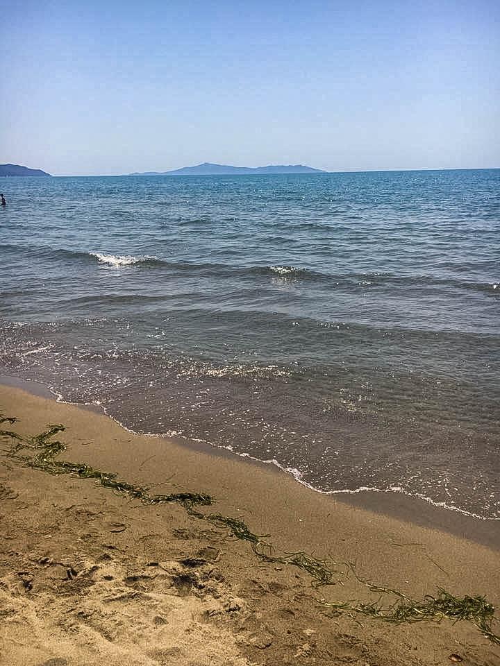 wybrzeze plaze toskanii Castiglione della Pescaia