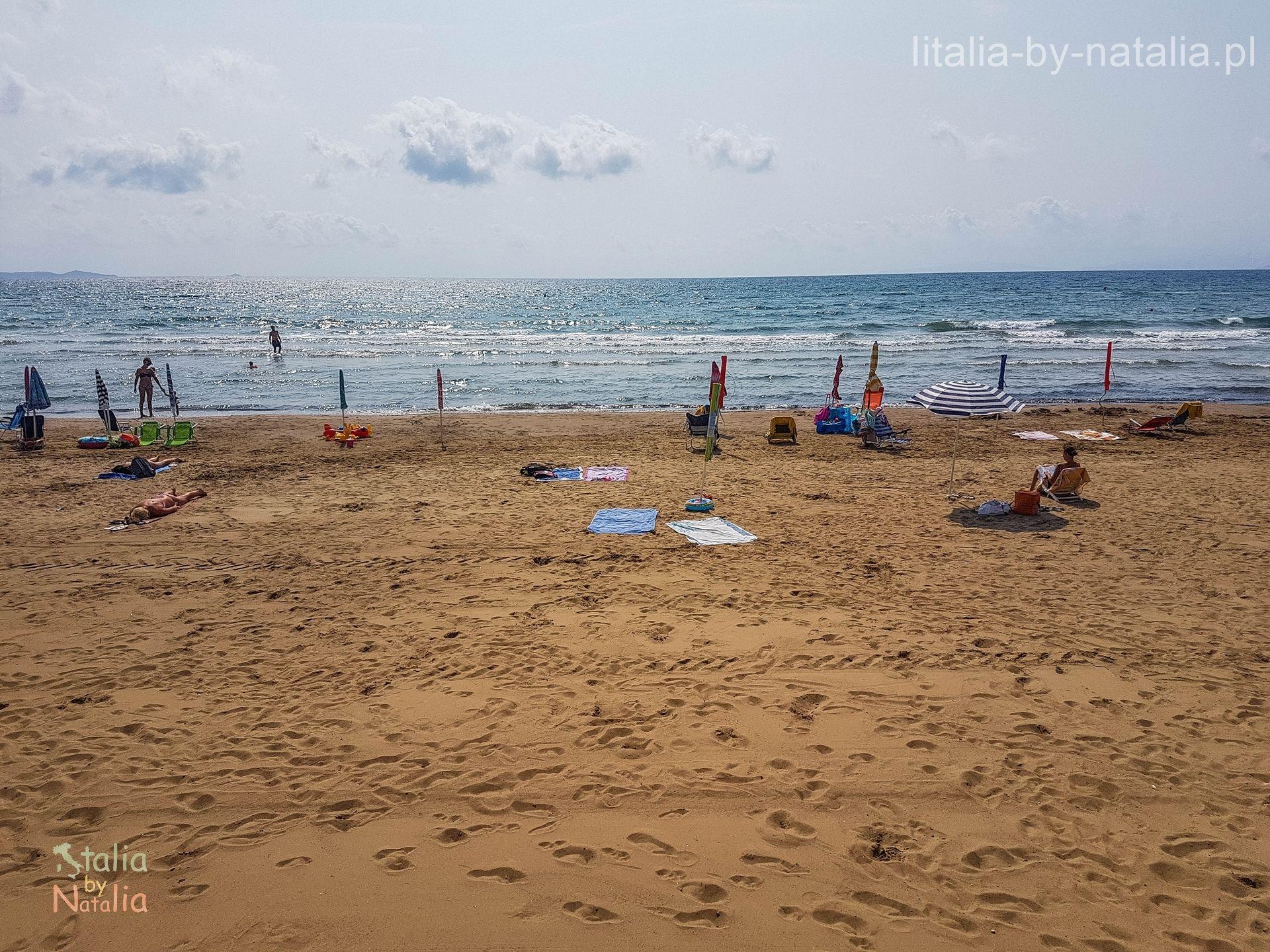 wybrzeze plaze toskanii Follonica