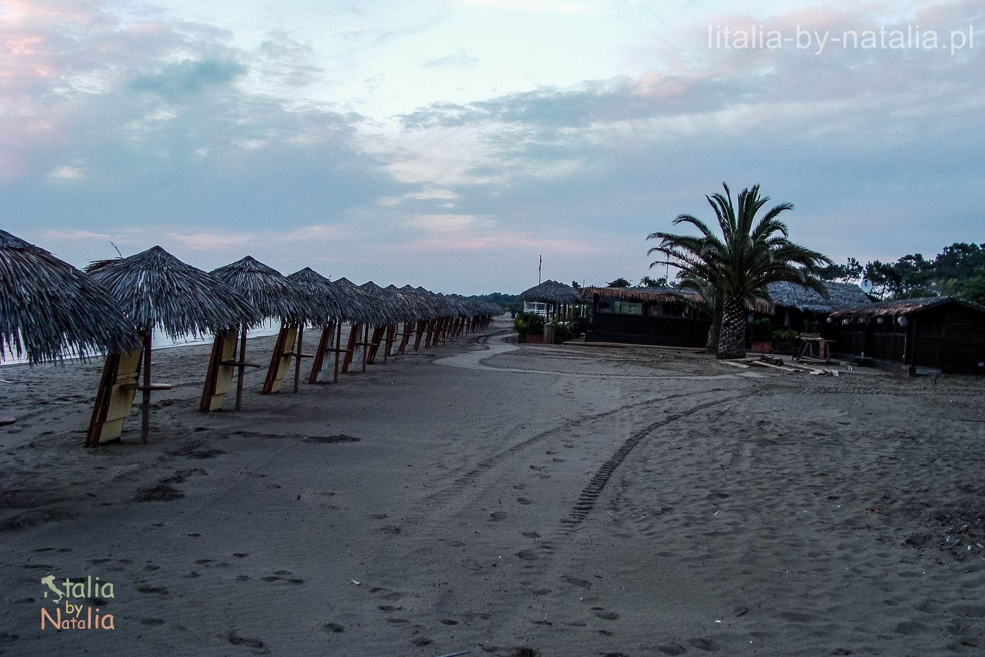 wybrzeze plaze toskanii Giannella