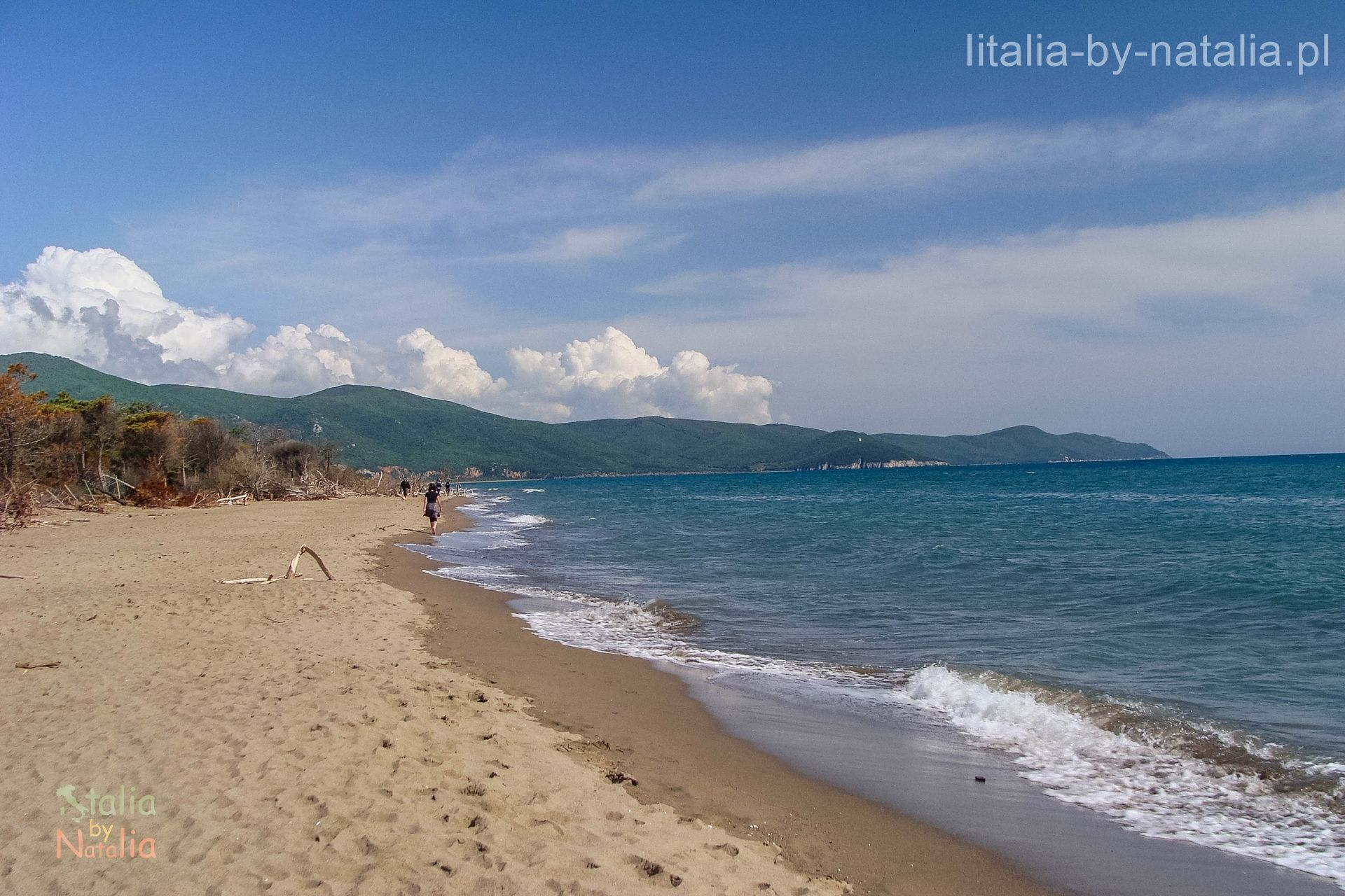 wybrzeze plaze toskanii Marina di Alberese Maremma