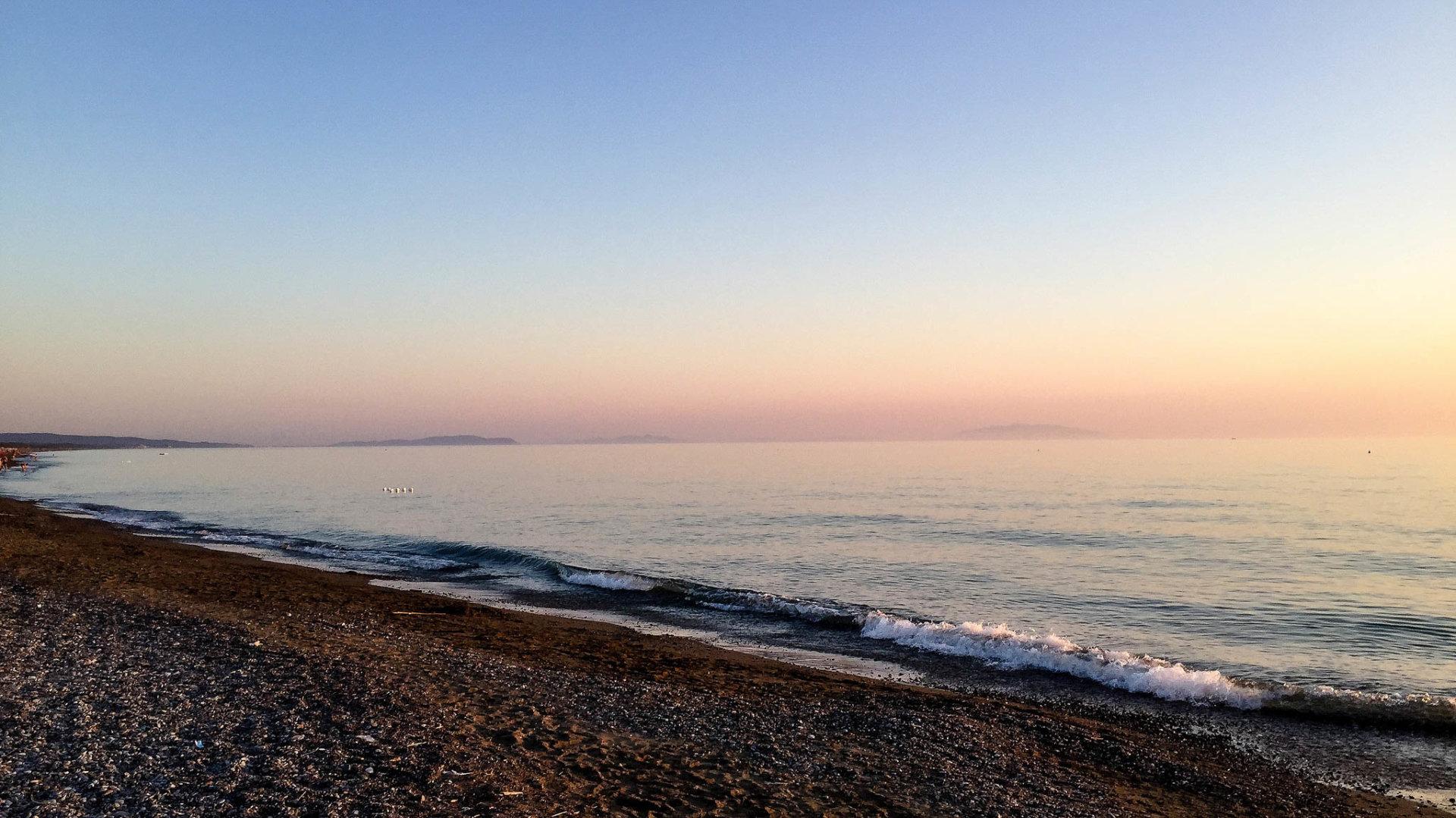 wybrzeze plaze toskanii marina di bibbona