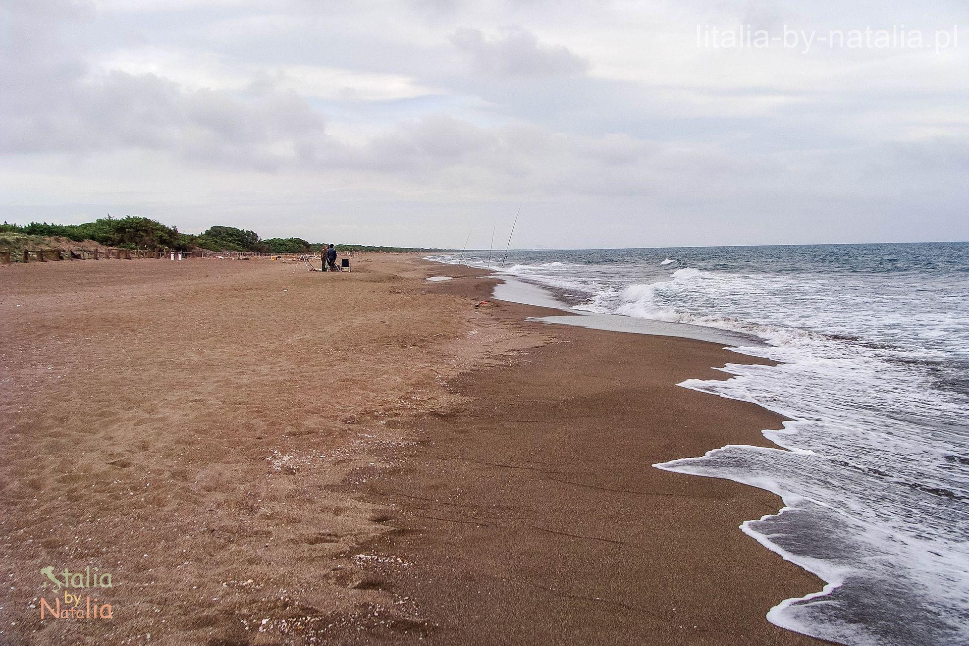 wybrzeze plaze toskanii Marina di Pescia Romana