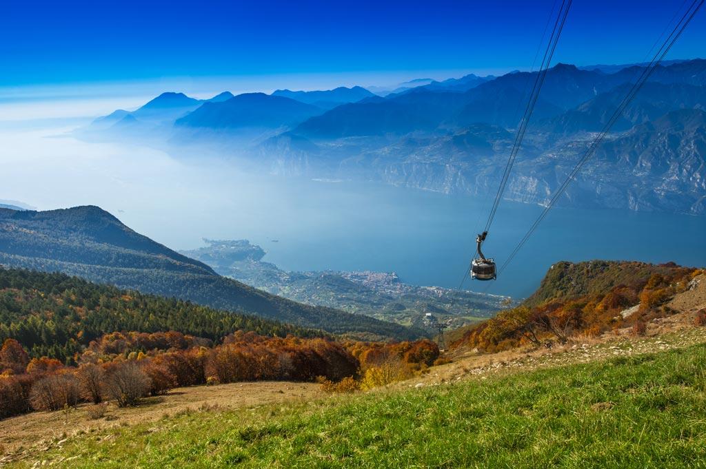 Monte Baldo zwiedzanie co zobaczyć kolejka linowa Malcesine