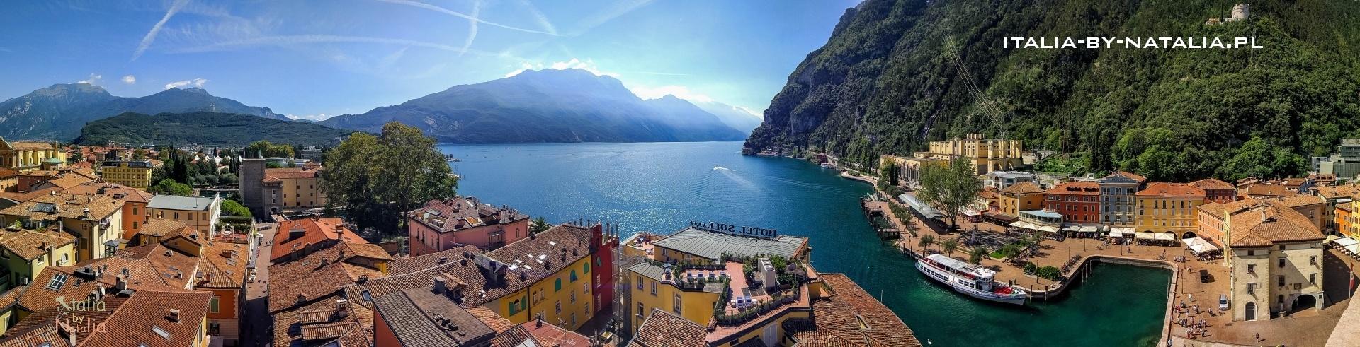 Riva del Garda co zobaczyć jak zwiedzać przewodnik punkt widokowy