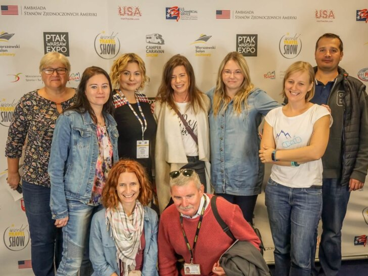 Natalia Rosiak World Travel Show Nadarzyn targi turystyczne