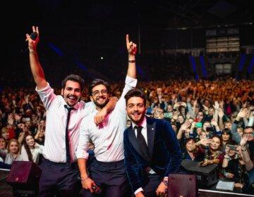 koncert Il Volo w Łodzi relacja zdjęcia film za sceną Il Volo concert Lodz