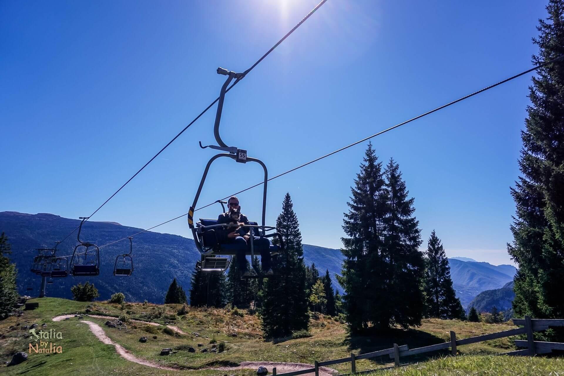 Jezioro Molveno lake lago Trentino Dolomity Dolomiti Brenta
