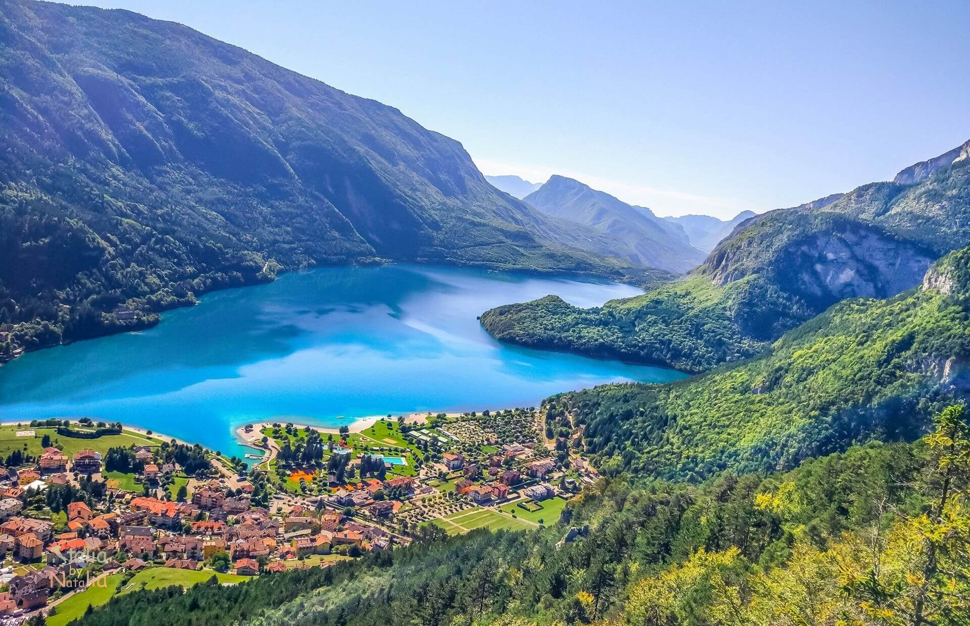 Molveno most beautiful lake in italy at the foot of the for Lago n