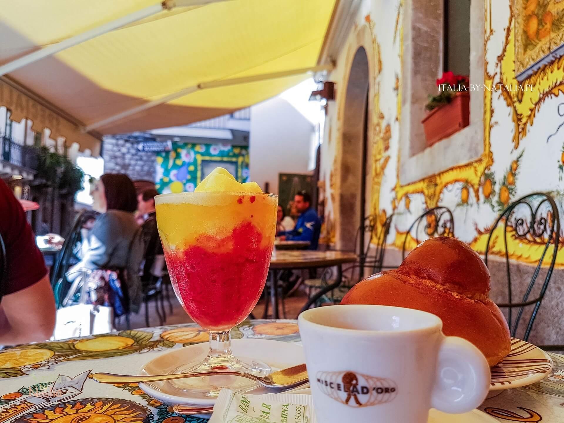 gdzie zjeść w Taorminie wschodnia Sycylia Bam Bar