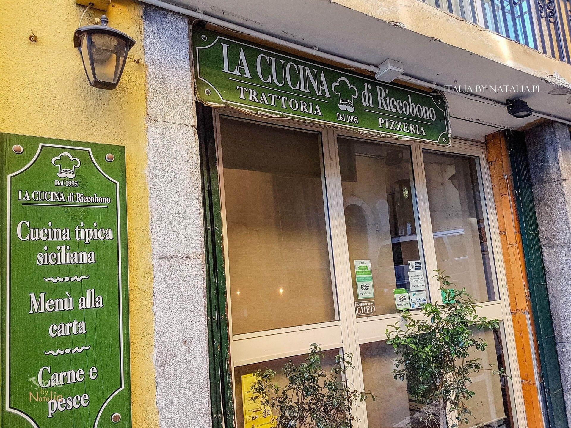 gdzie zjeść w Taorminie wschodnia Sycylia