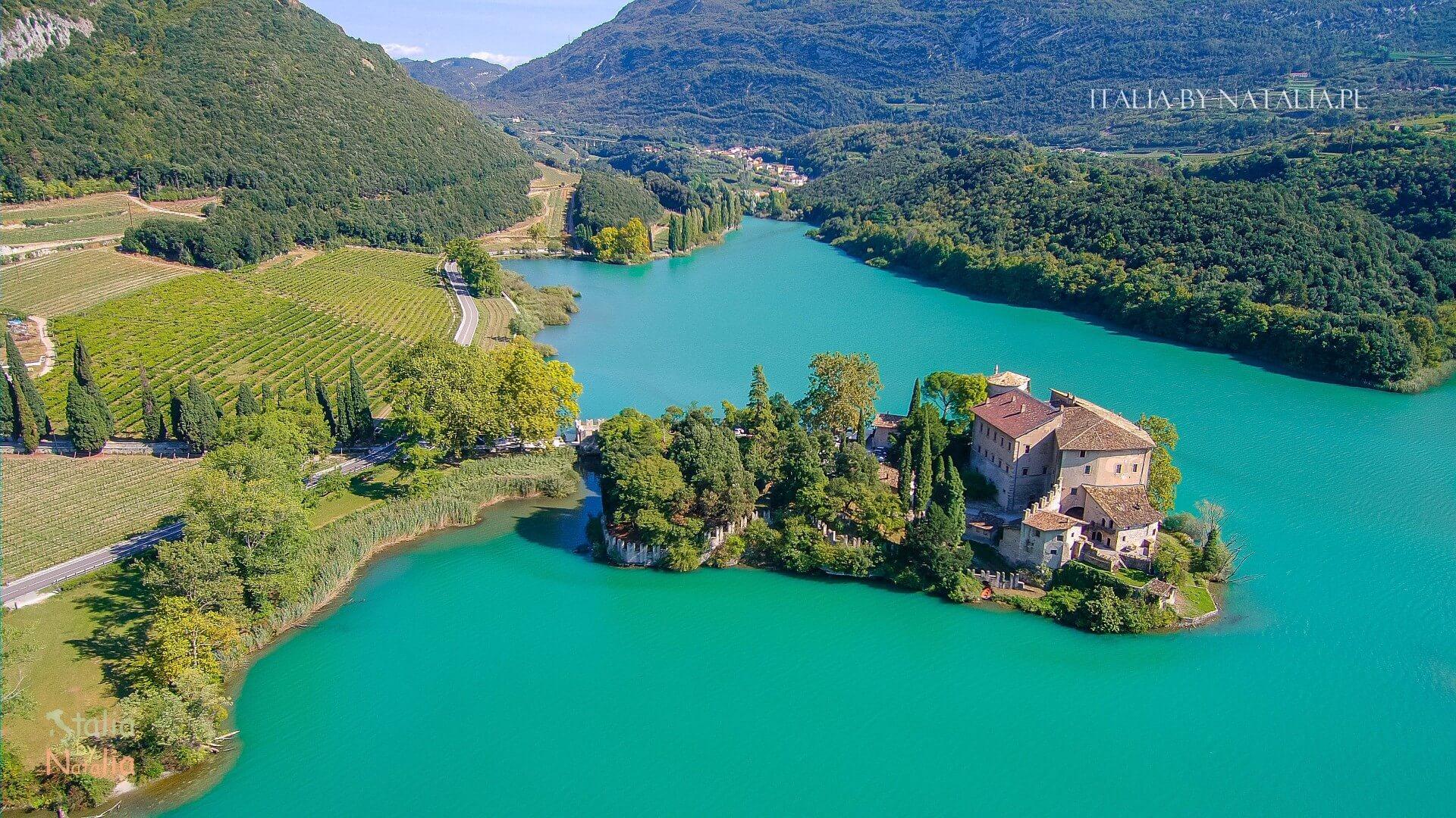 Jezioro Toblino Santa Massenza wycieczka na północ od Garda