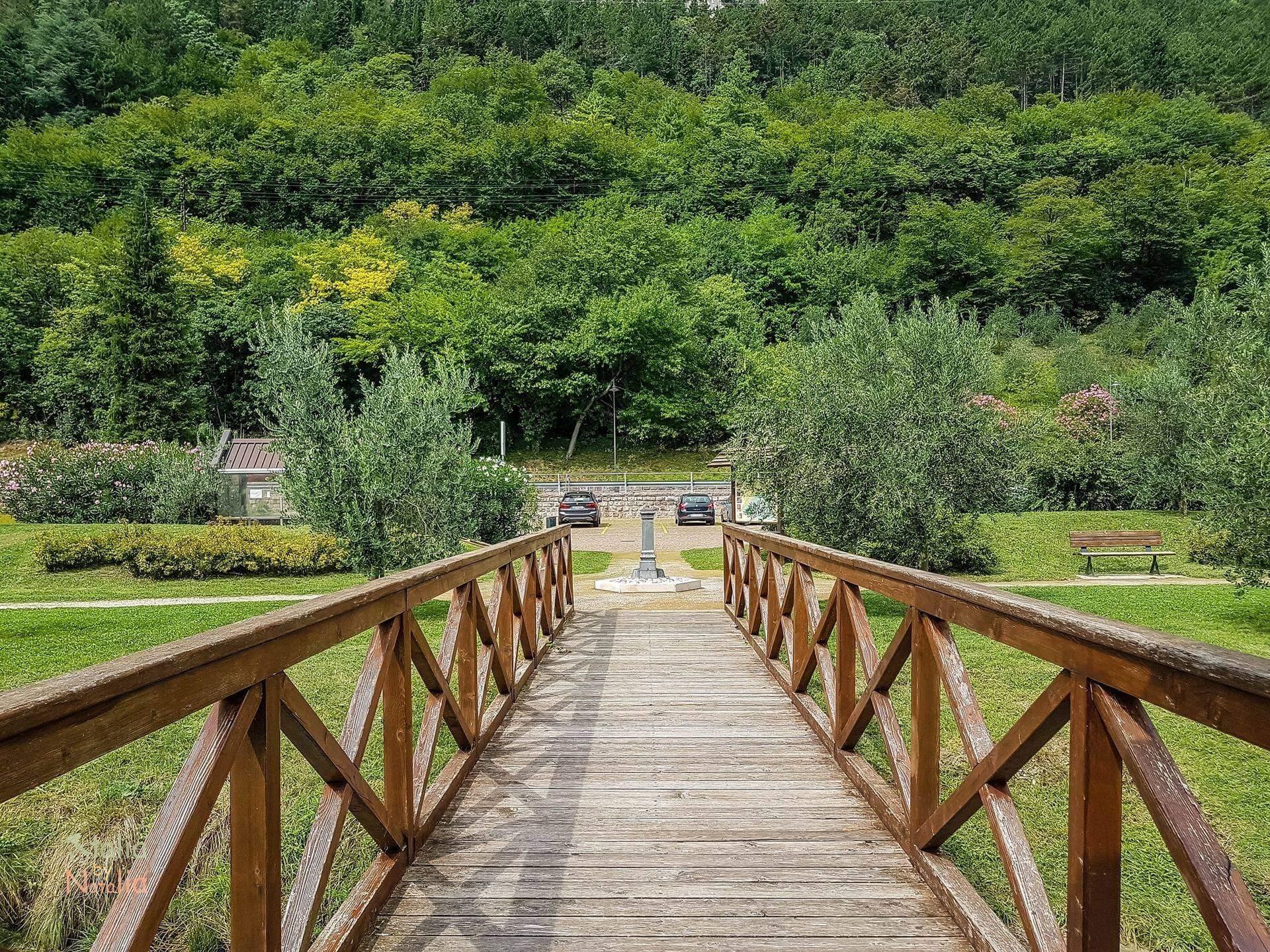 Jezioro Toblino Santa Massenza wycieczka na północ od Garda lake toblino