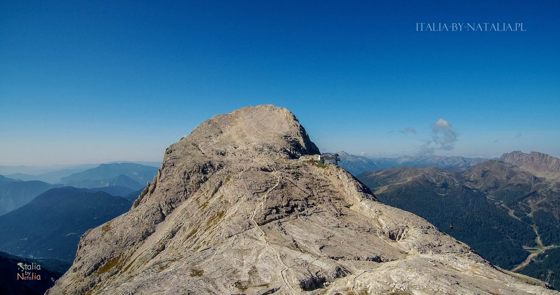 Cima Rosetta trekking Pale di San Martino Dolomity Dolomites San Martino di Castrozza