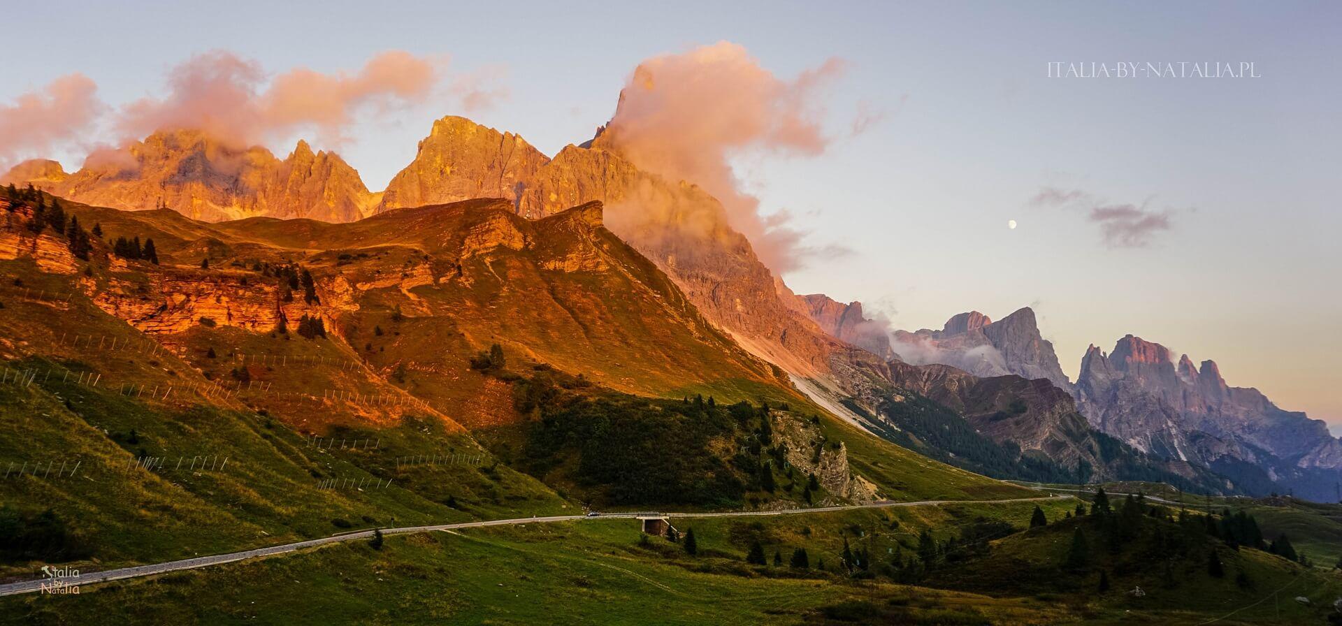 Cima Rosetta trekking Pale di San Martino Dolomity Dolomites Passo Rolle