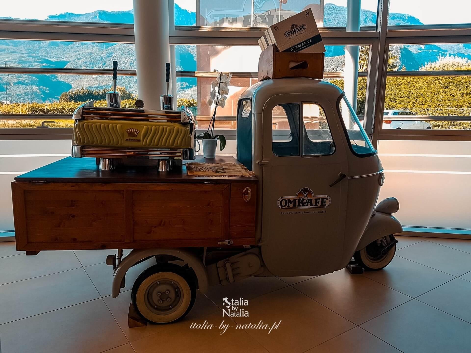 muzeum kawy Arco jezioro Garda Trentino bezpłatna atrakcja