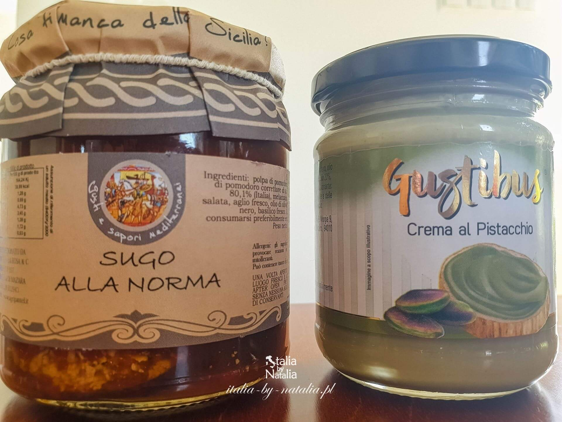 Co kupić na Sycylii? Czego spróbować? Co przywieźć z Sycylii do domu? What to buy in Sicily? What to try? What to bring back home from Sicily?