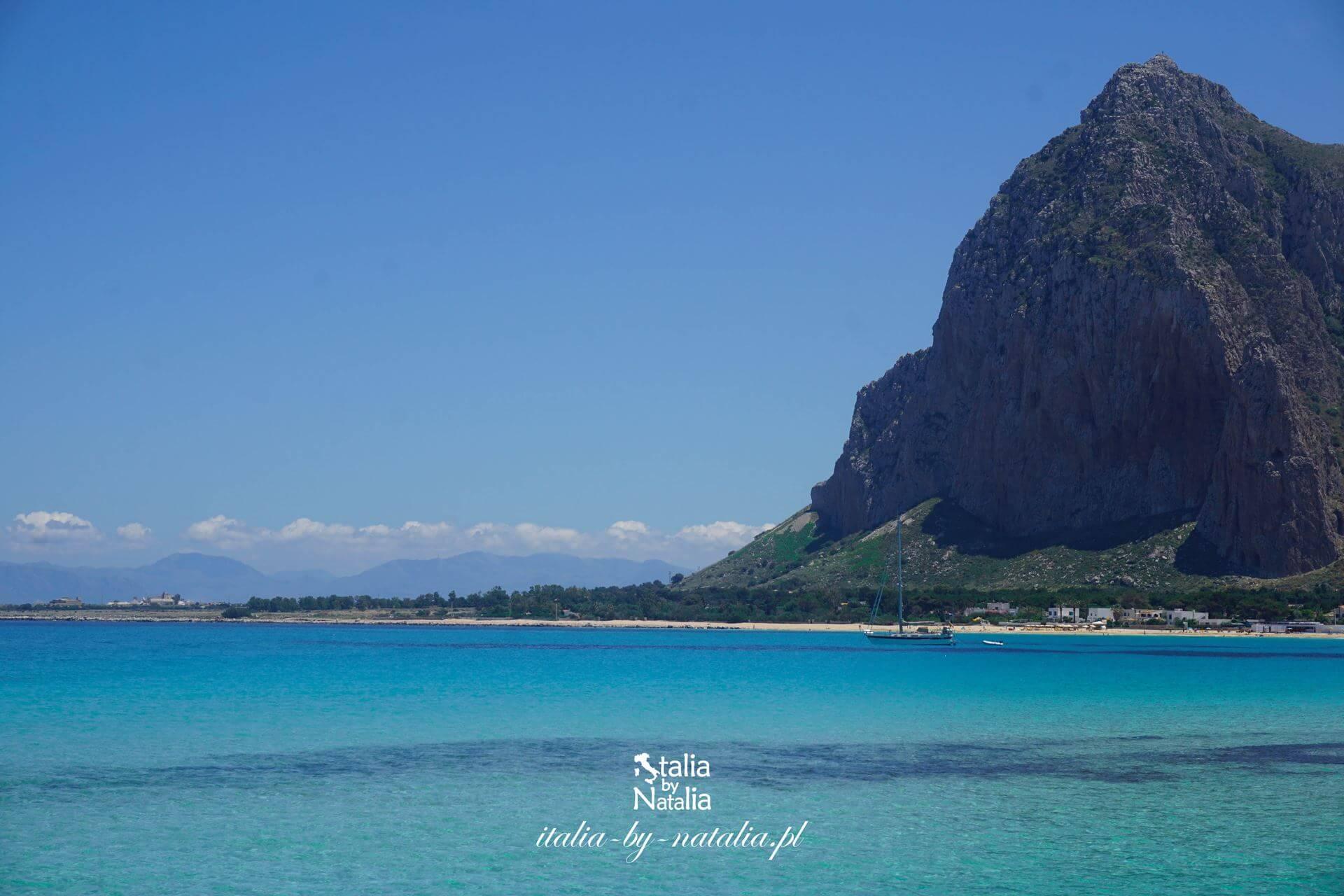 San Vito lo Capo najpiękniejsza plaża Sycylii rejs do Zingaro Scopello atrakcje