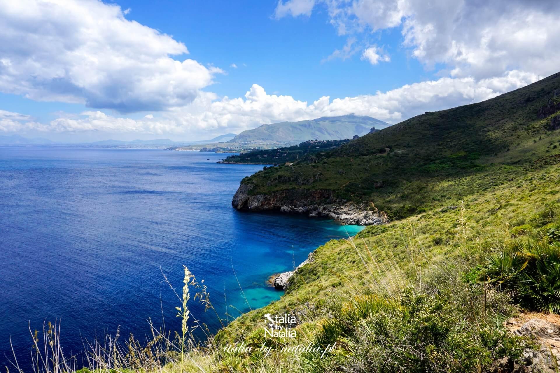 San Vito lo Capo najpiękniejsza plaża Sycylii rejs do Zingaro Scopello atrakcje wakacje w trapani