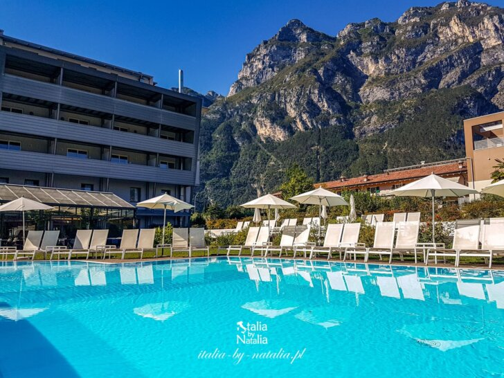 Hotel Luise wyjątkowy nocleg w Riva del Garda jezioro Garda Trentino
